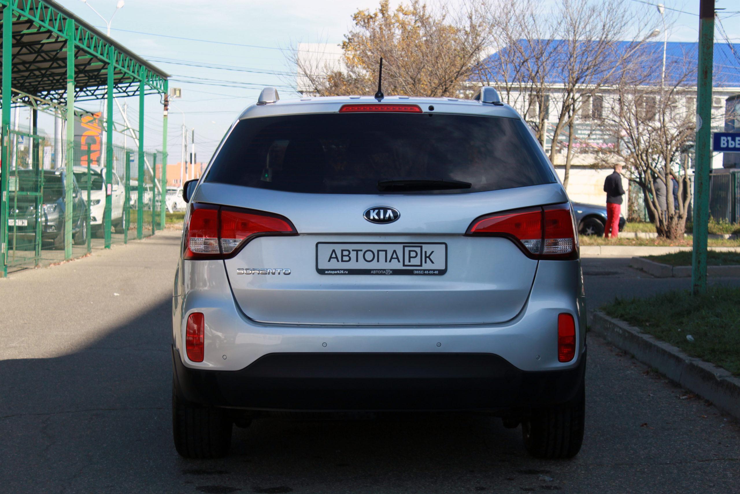 Купить KIA Sorento (серебристый) - Автопарк Ставрополь