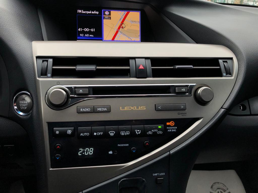 Купить Lexus RX (Черный) - Автопарк Ставрополь