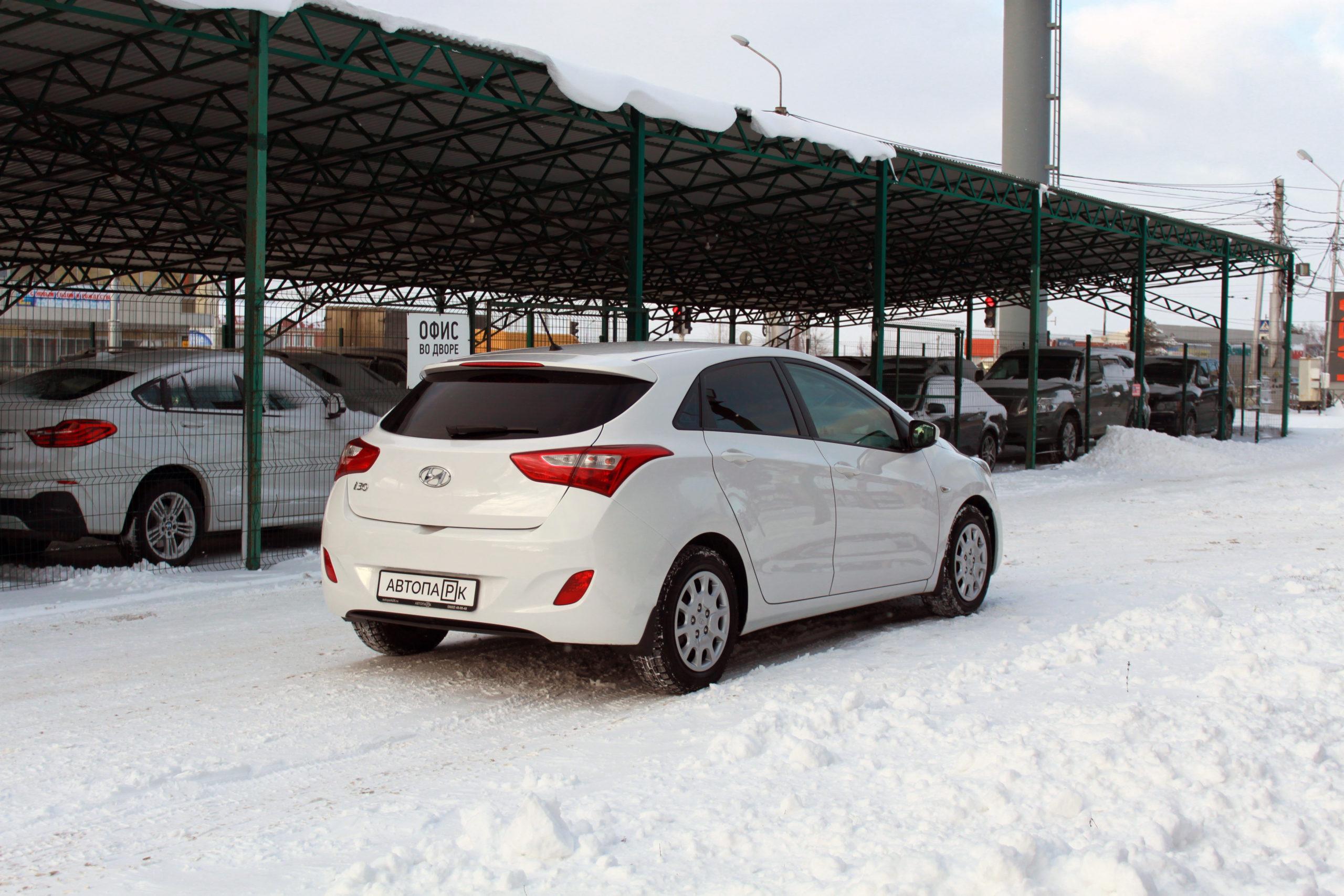 Купить Hyundai i30 (Белый) - Автопарк Ставрополь