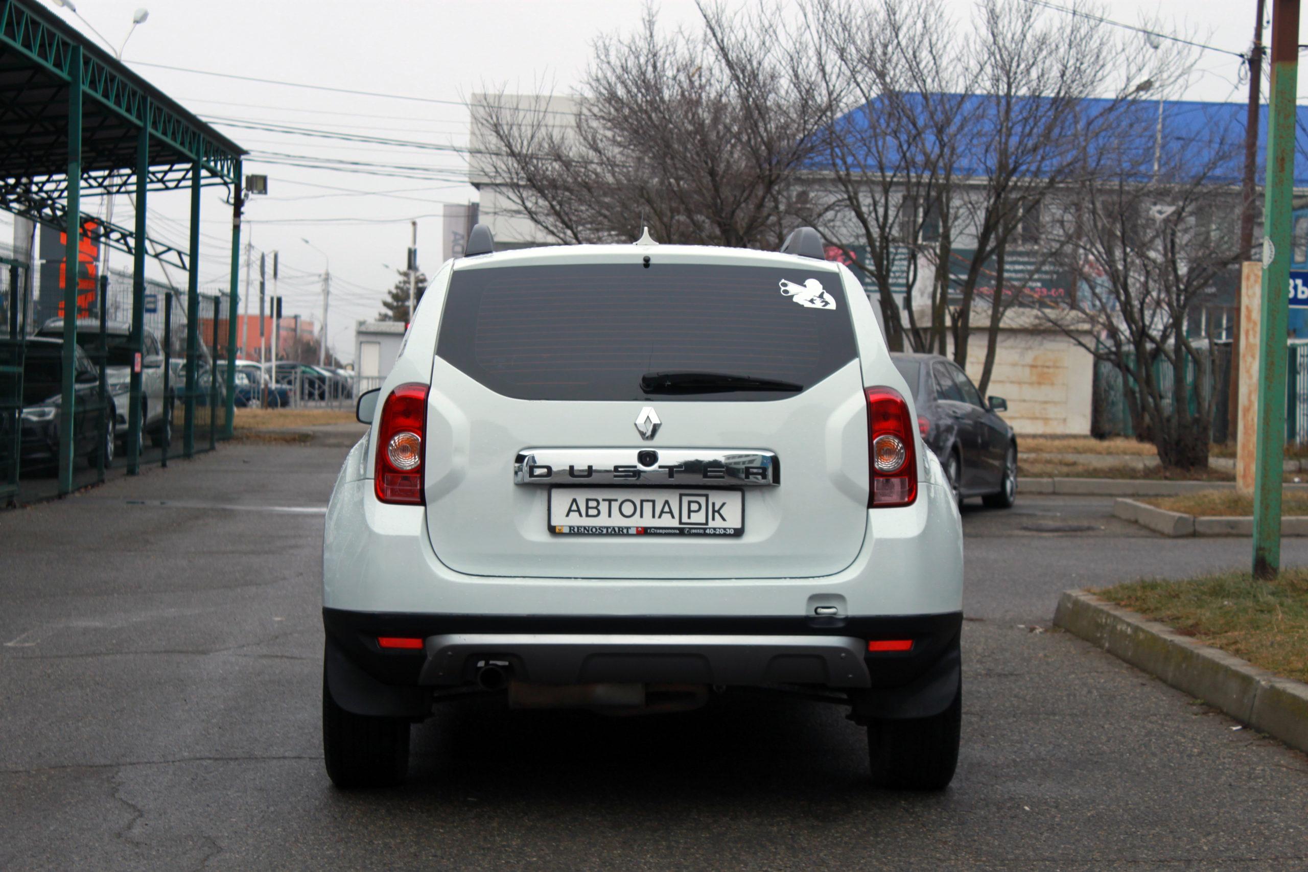 Купить Renault Duster (Белый) - Автопарк Ставрополь