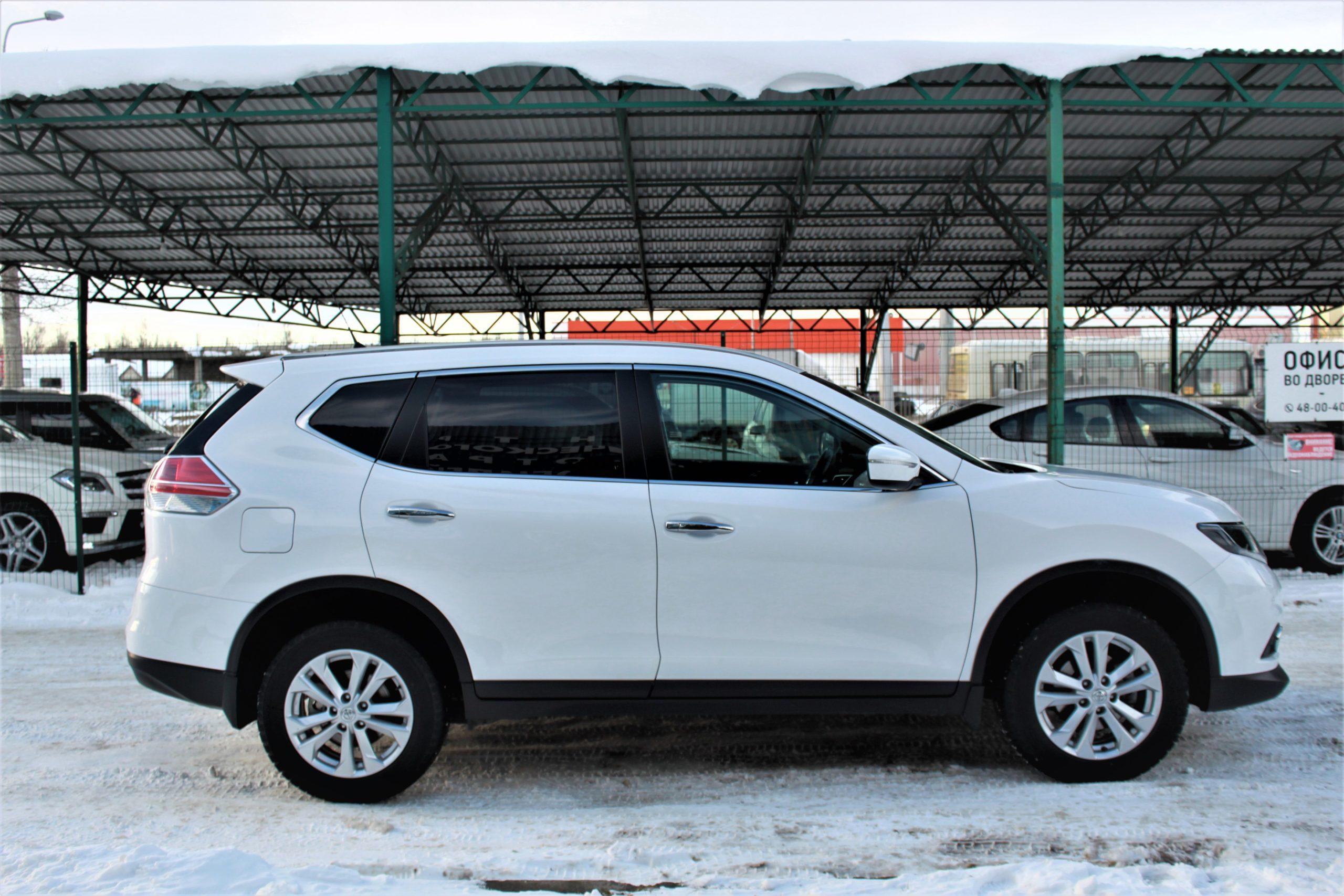 Купить Nissan X-Trail (Белый) - Автопарк Ставрополь