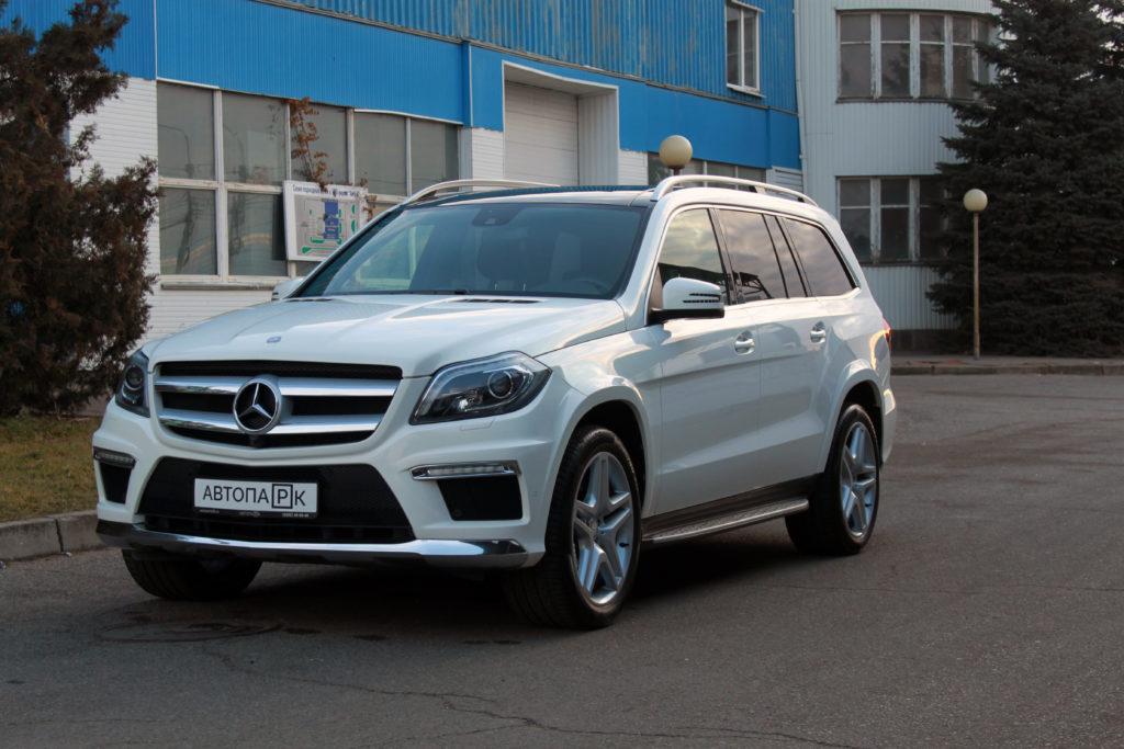 Купить Mercedes-Benz GL (Белый) - Автопарк Ставрополь