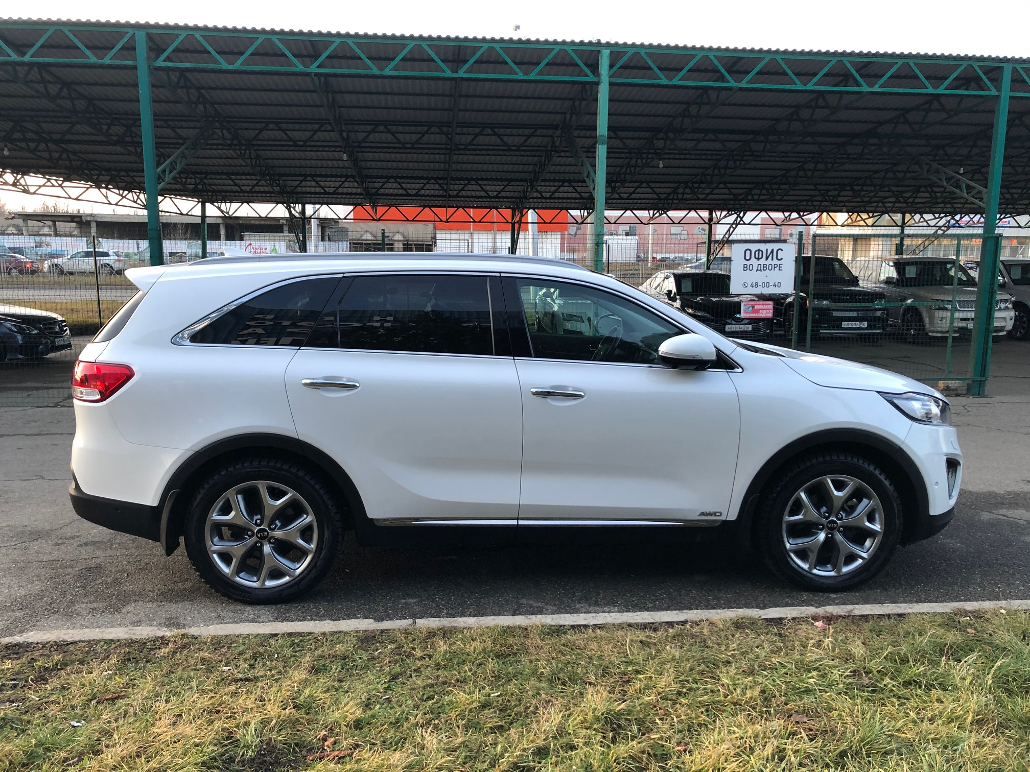 Купить KIA Sorento Prime (Белый) - Автопарк Ставрополь