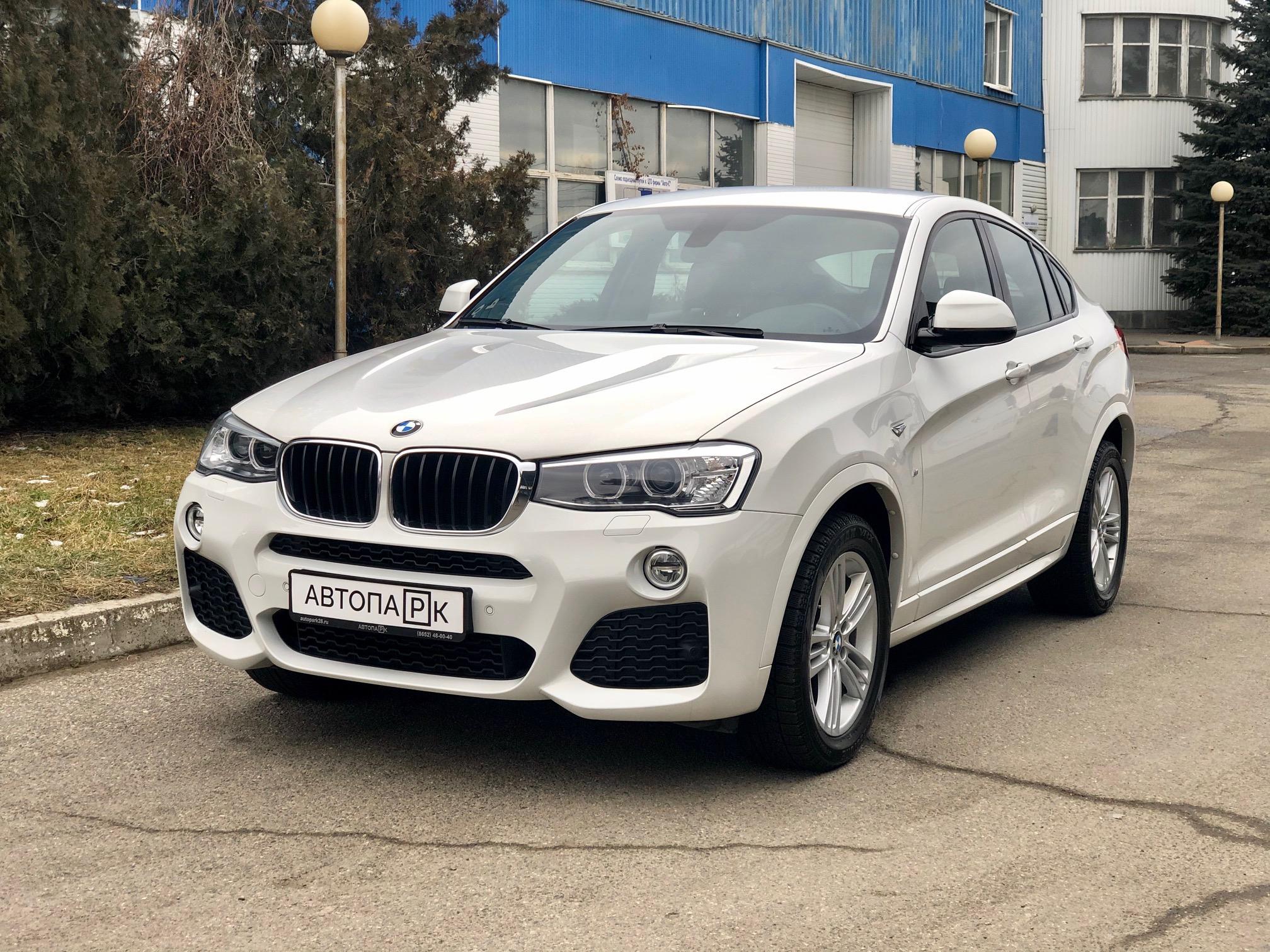 Купить BMW X4 (Белый) - Автопарк Ставрополь
