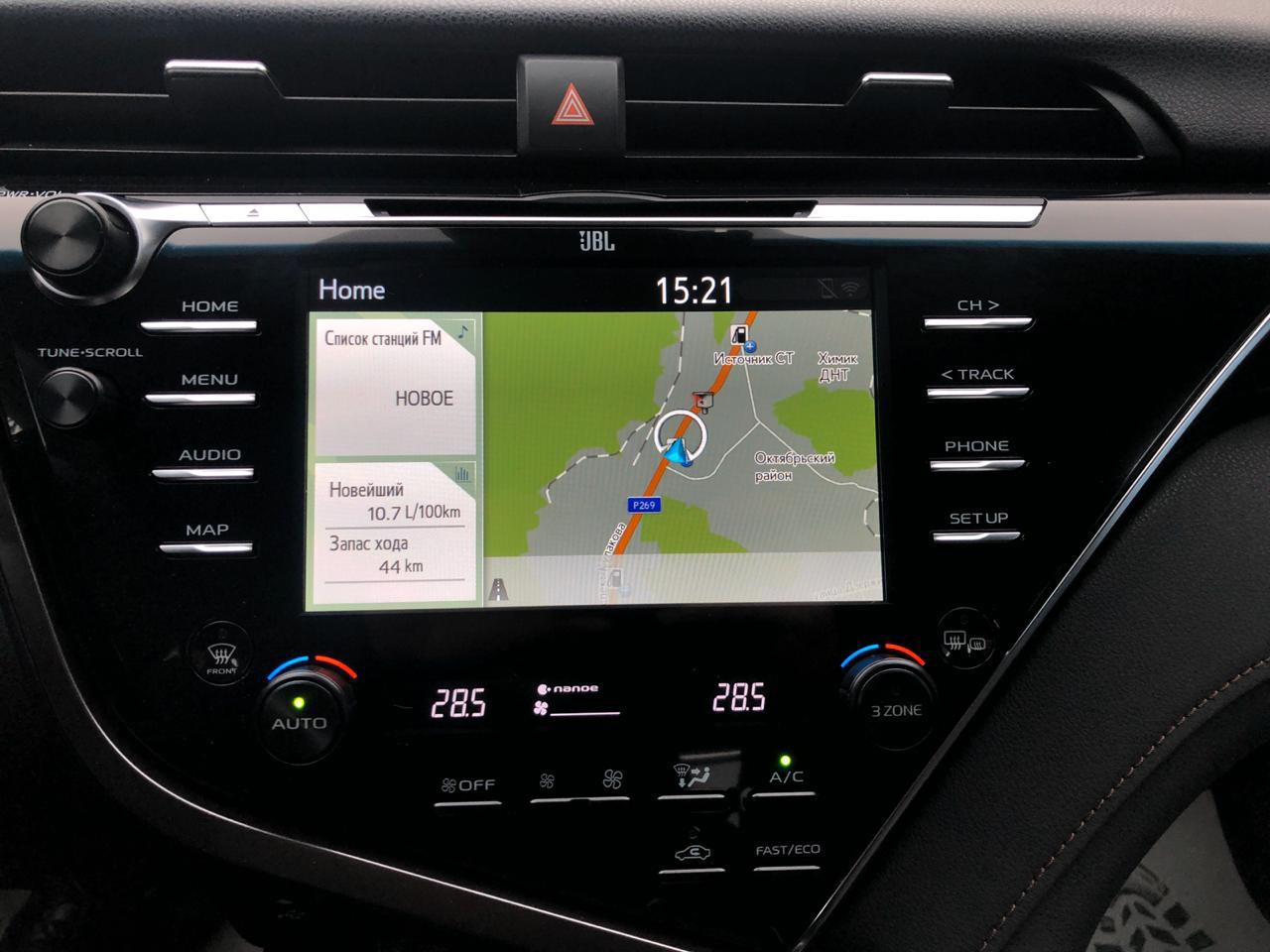 Купить Toyota Camry (Темно-синий) - Автопарк Ставрополь