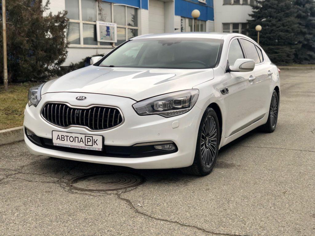 Купить KIA Quoris (Белый) - Автопарк Ставрополь