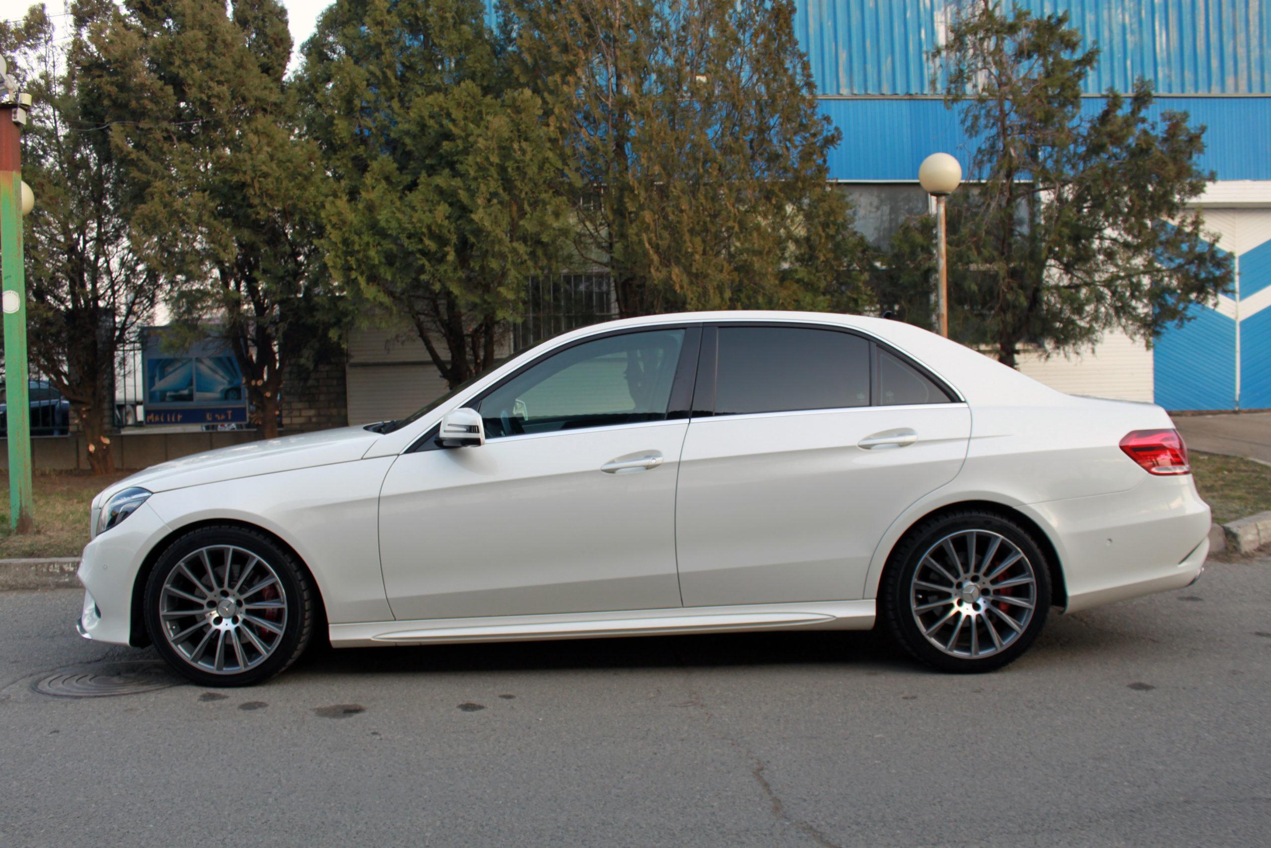 Купить Mercedes-Benz E (Белый) - Автопарк Ставрополь