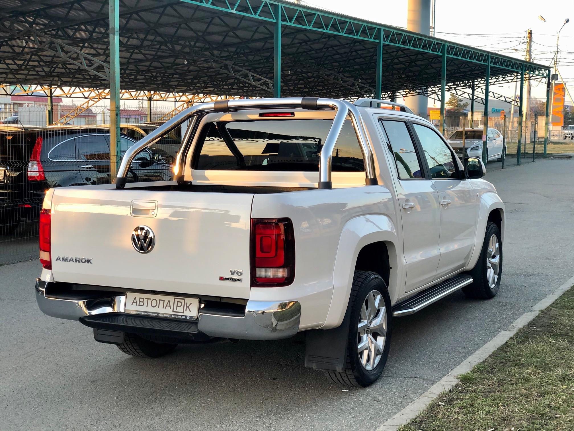 Купить Volkswagen Amarok (Белый) - Автопарк Ставрополь