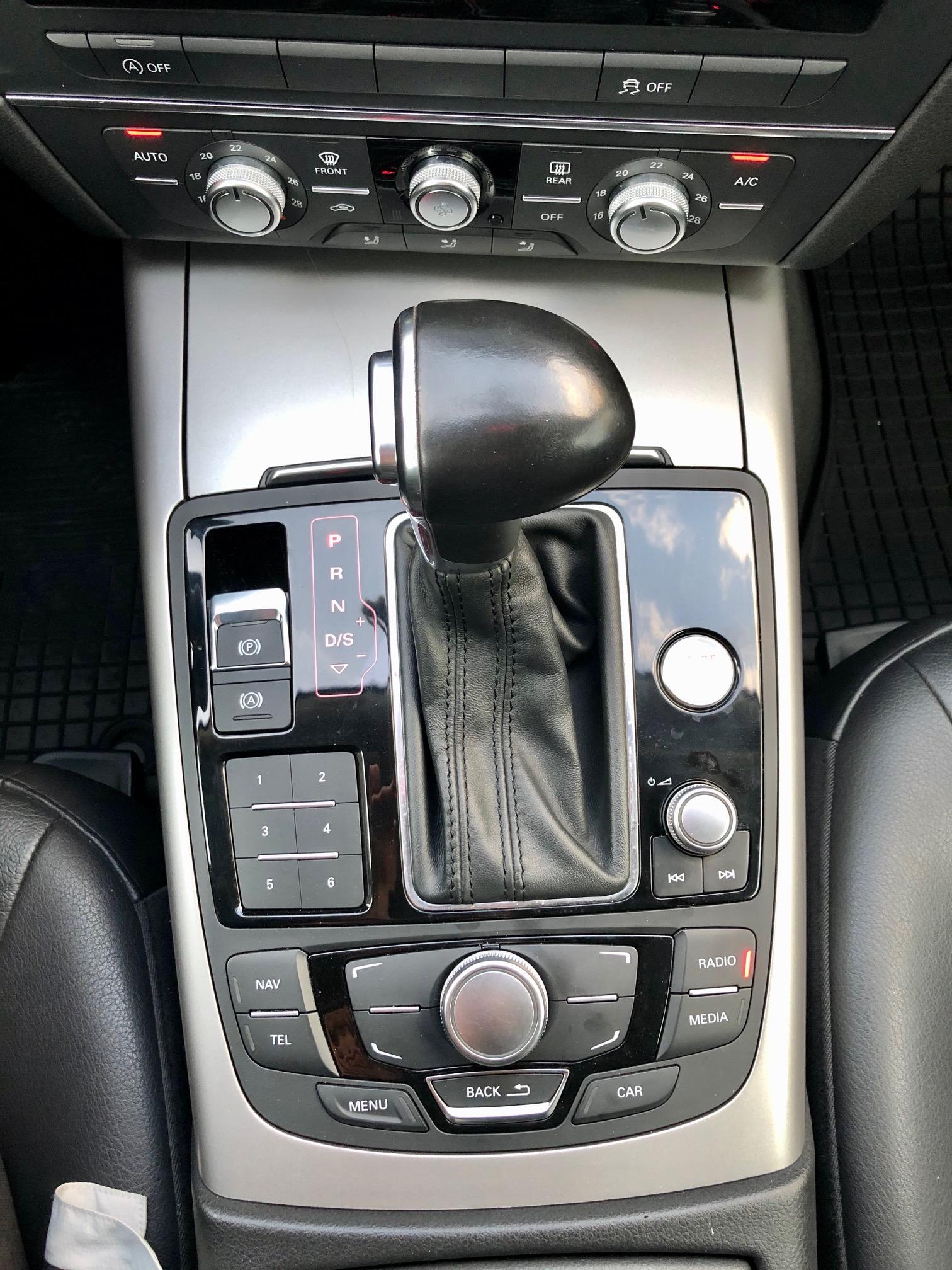 Купить Audi A6 (Черный) - Автопарк Ставрополь