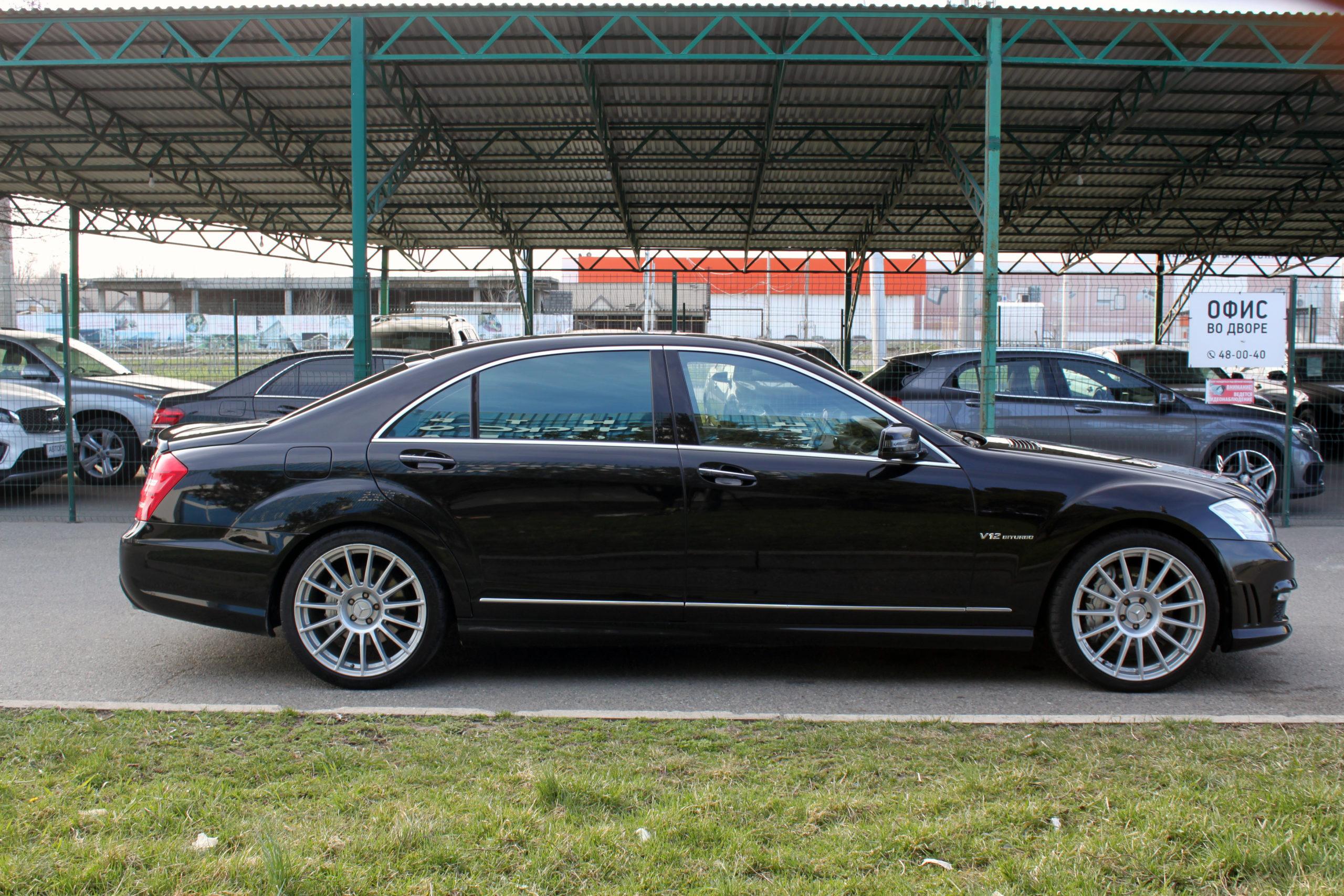 Купить Mercedes-Benz S600 L (Черный) - Автопарк Ставрополь