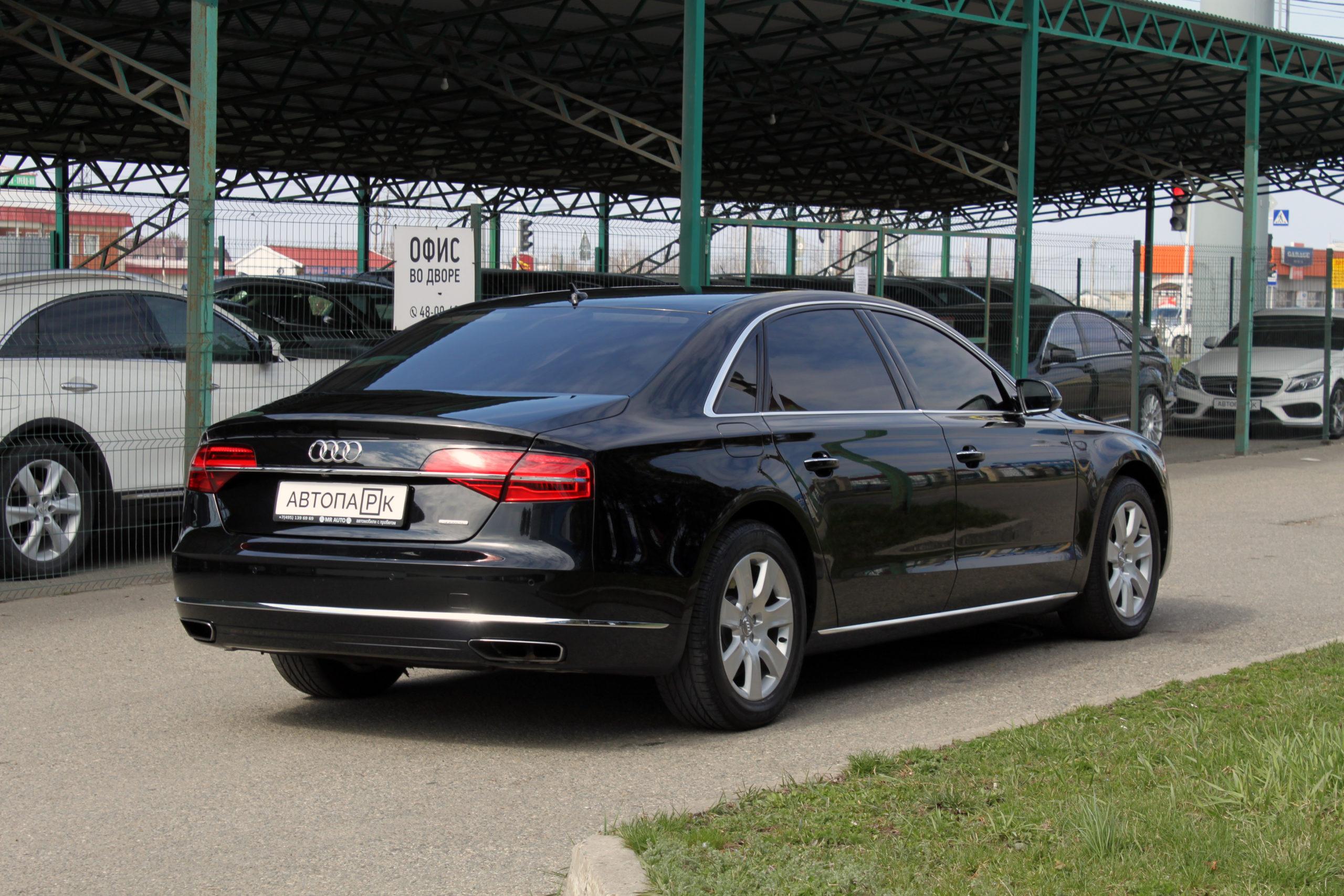 Купить Audi A8 (Черный) - Автопарк Ставрополь