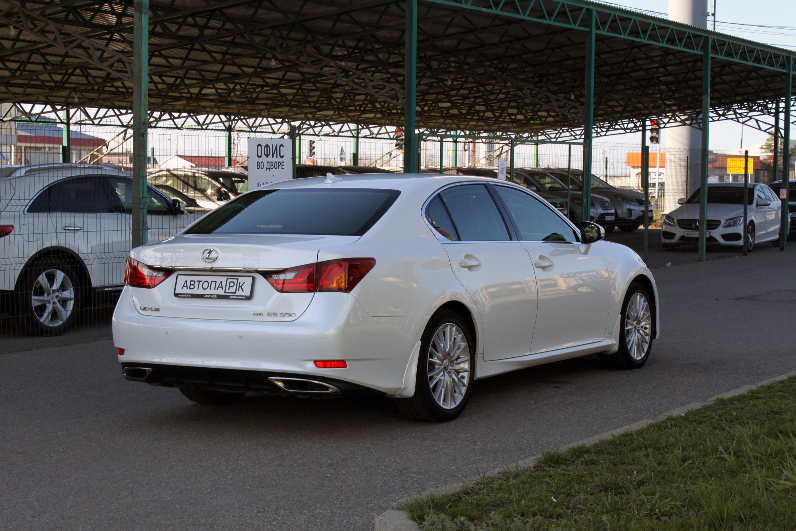 Купить Lexus GS (Белый) - Автопарк Ставрополь