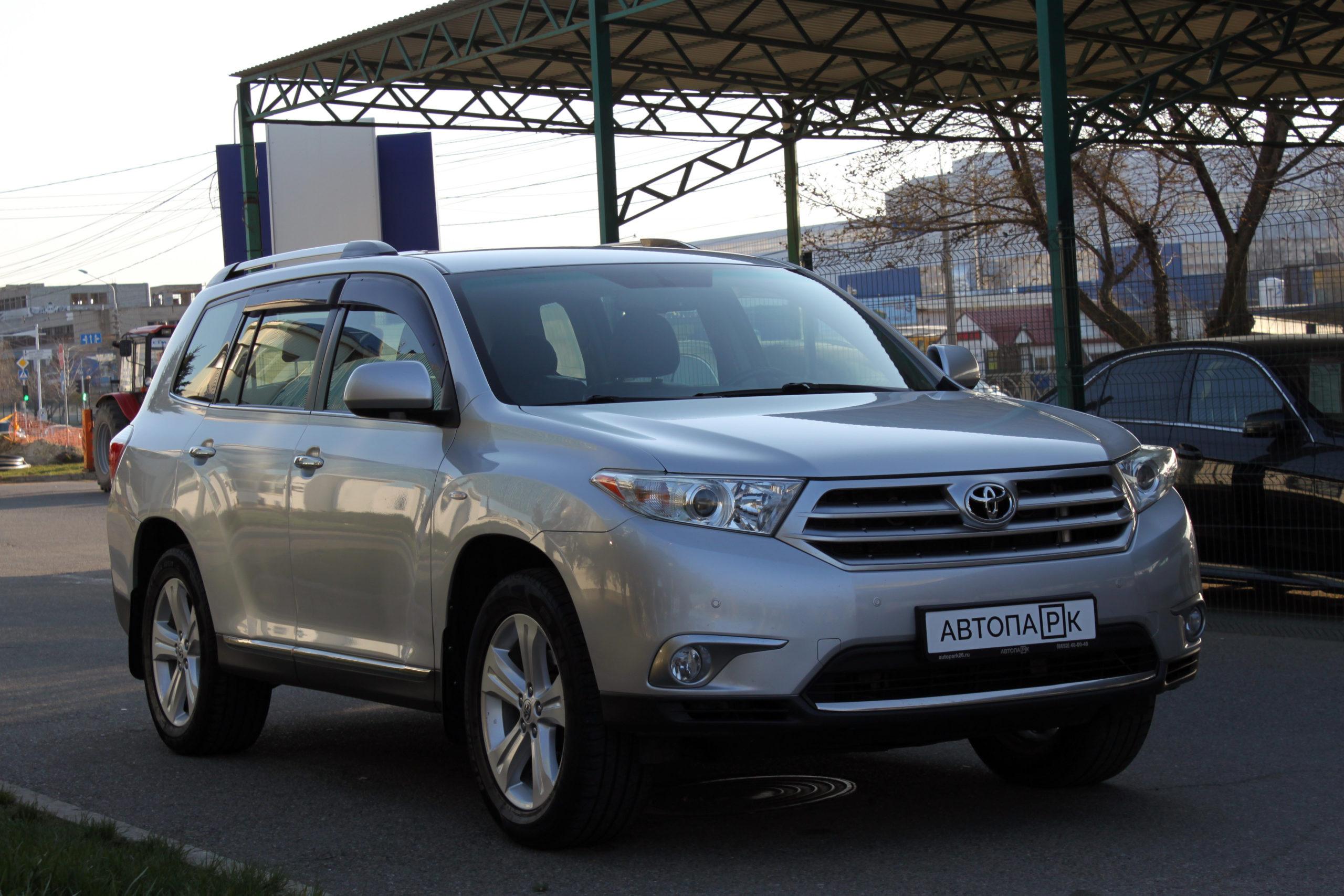 Купить Toyota Highlander (Серебристый ) - Автопарк Ставрополь