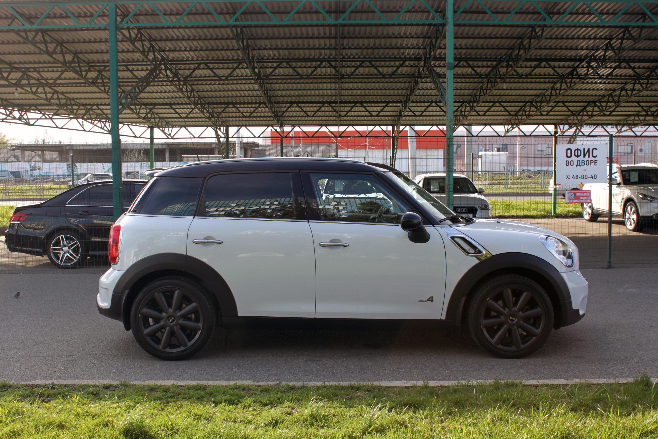 Купить MINI Cooper S Countryman (Белый) - Автопарк Ставрополь