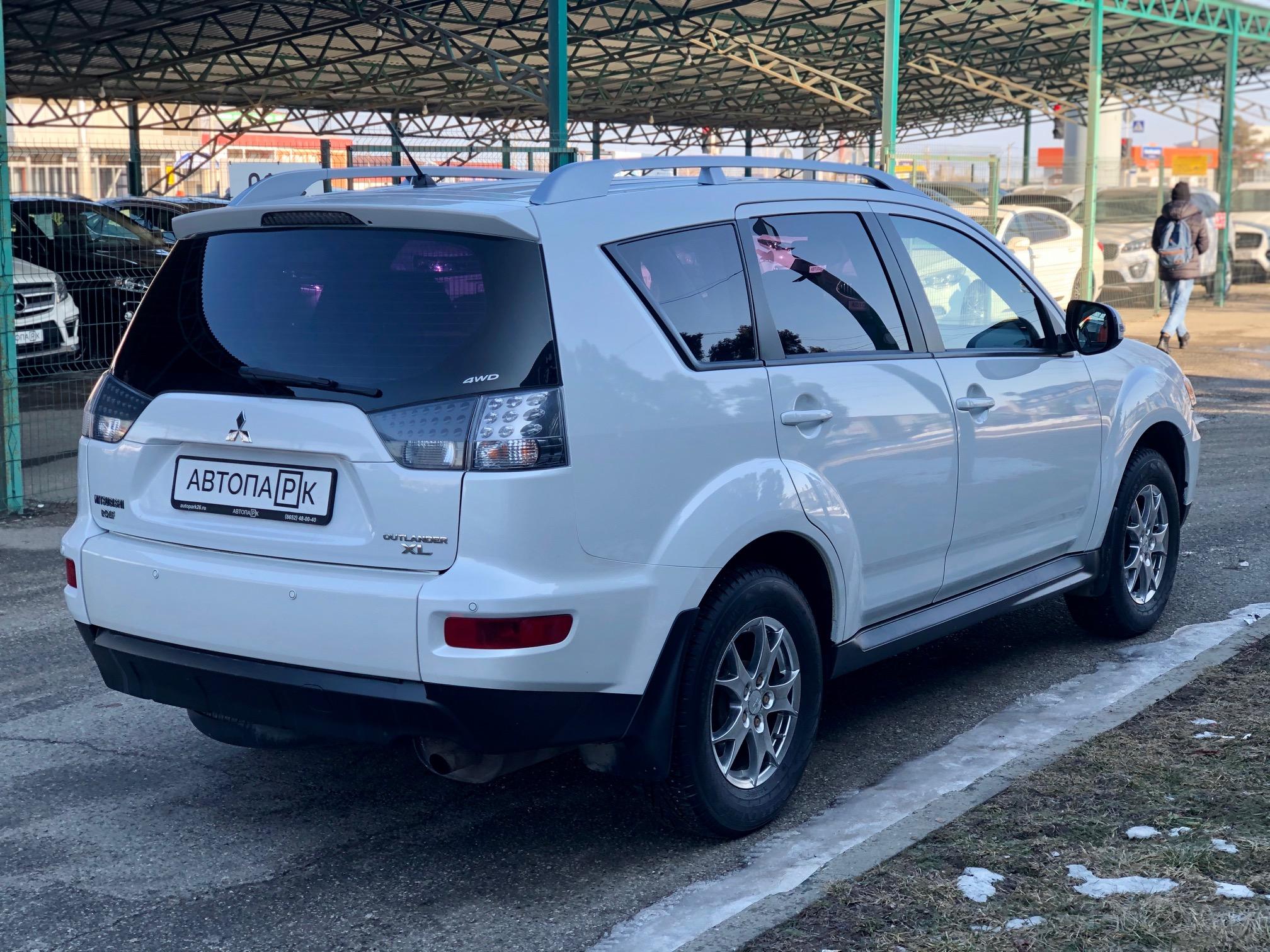 Купить Mitsubishi Outlander (Белый) - Автопарк Ставрополь