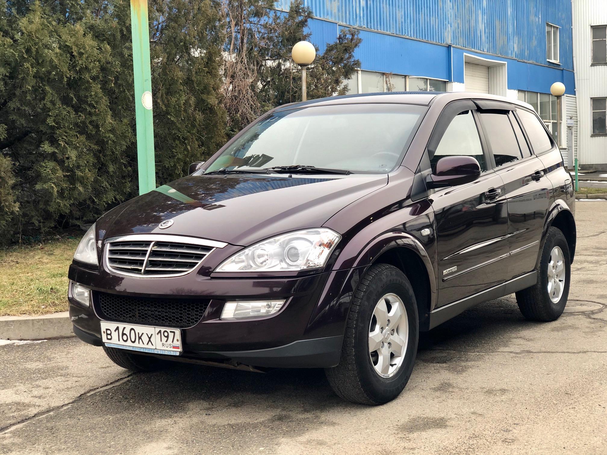 Купить SsangYong Kyron (Пурпурный) - Автопарк Ставрополь