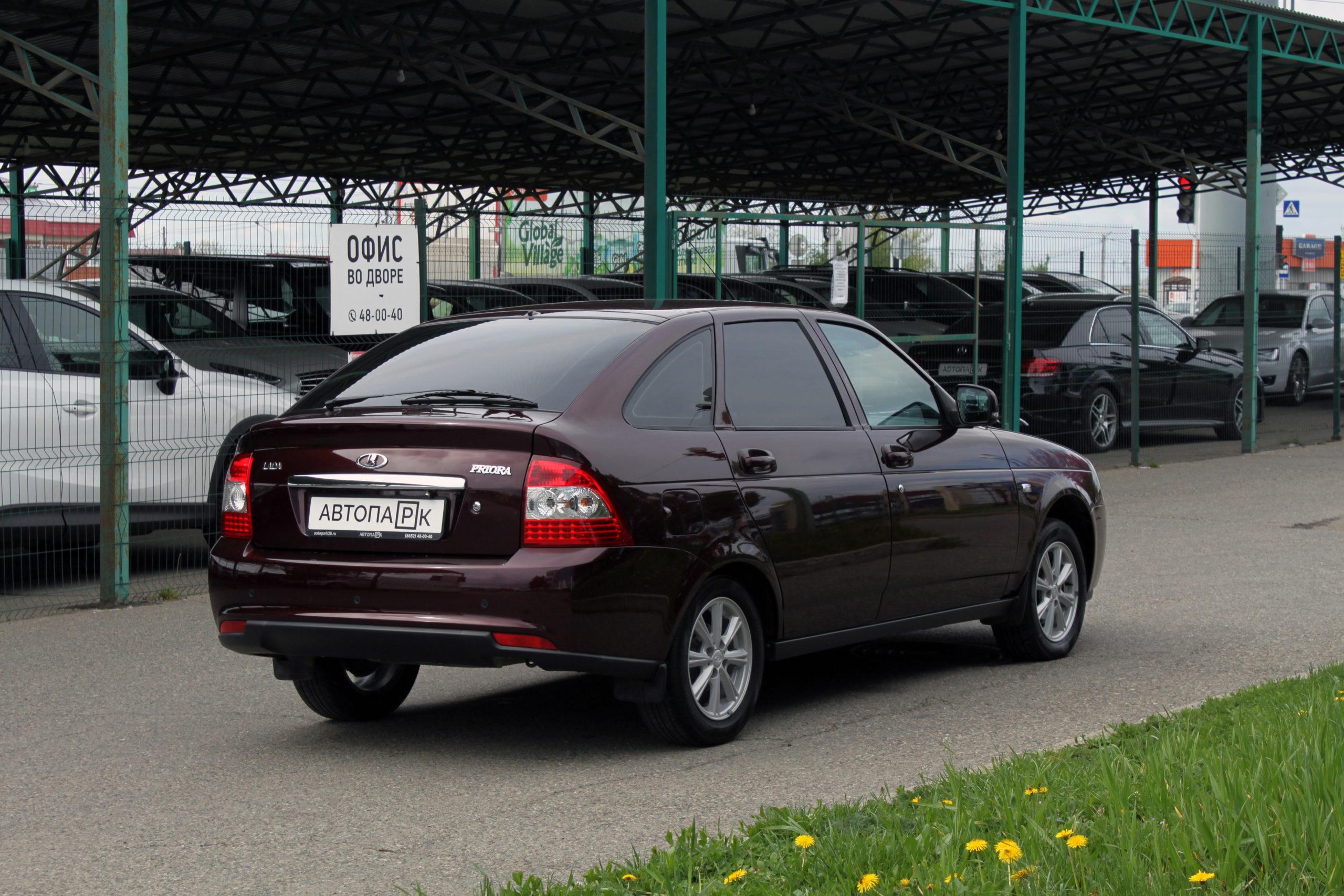 Купить LADA Priora (Темно-вишневый ) - Автопарк Ставрополь