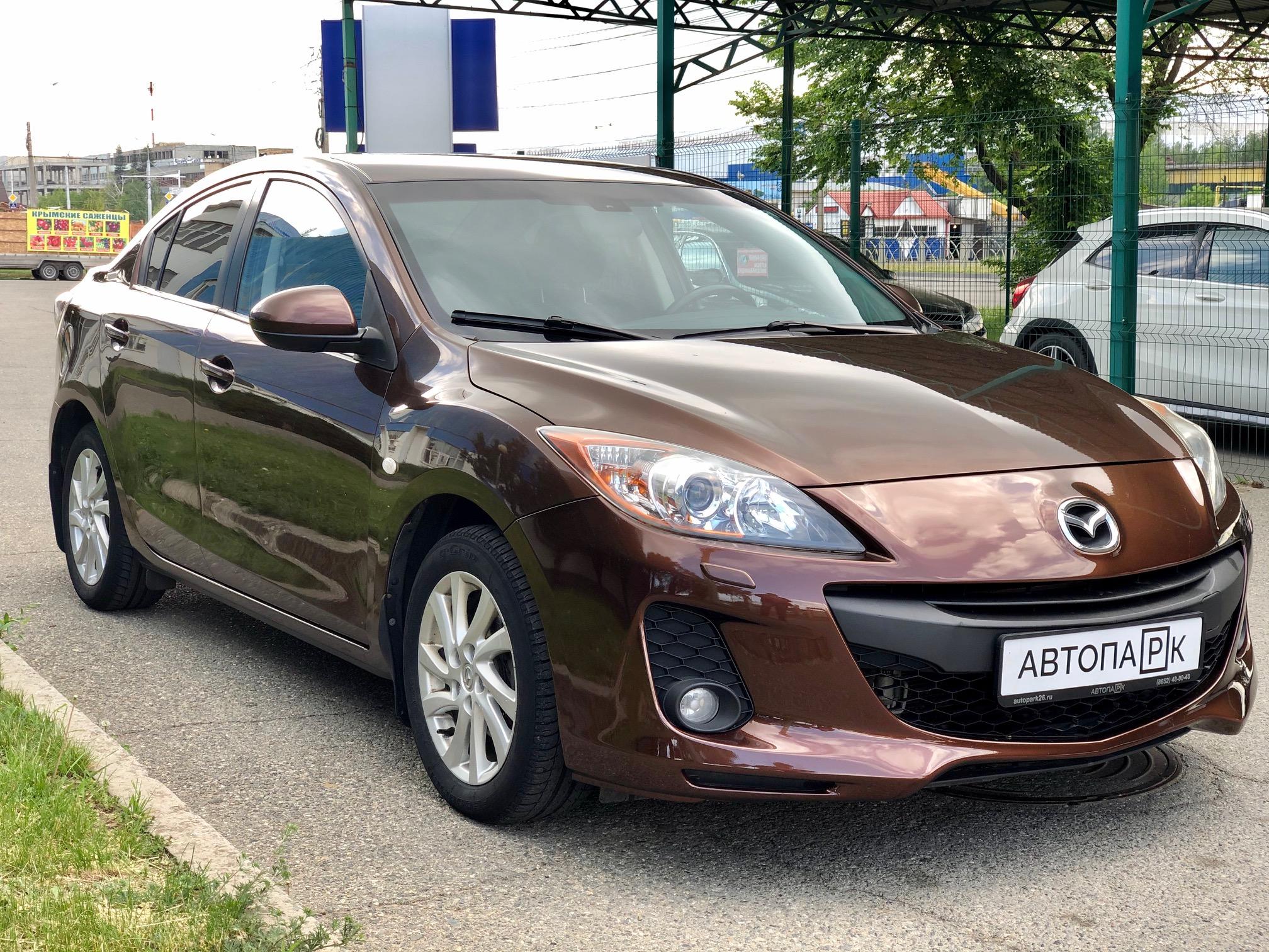 Купить Mazda 3 (Коричневый ) - Автопарк Ставрополь