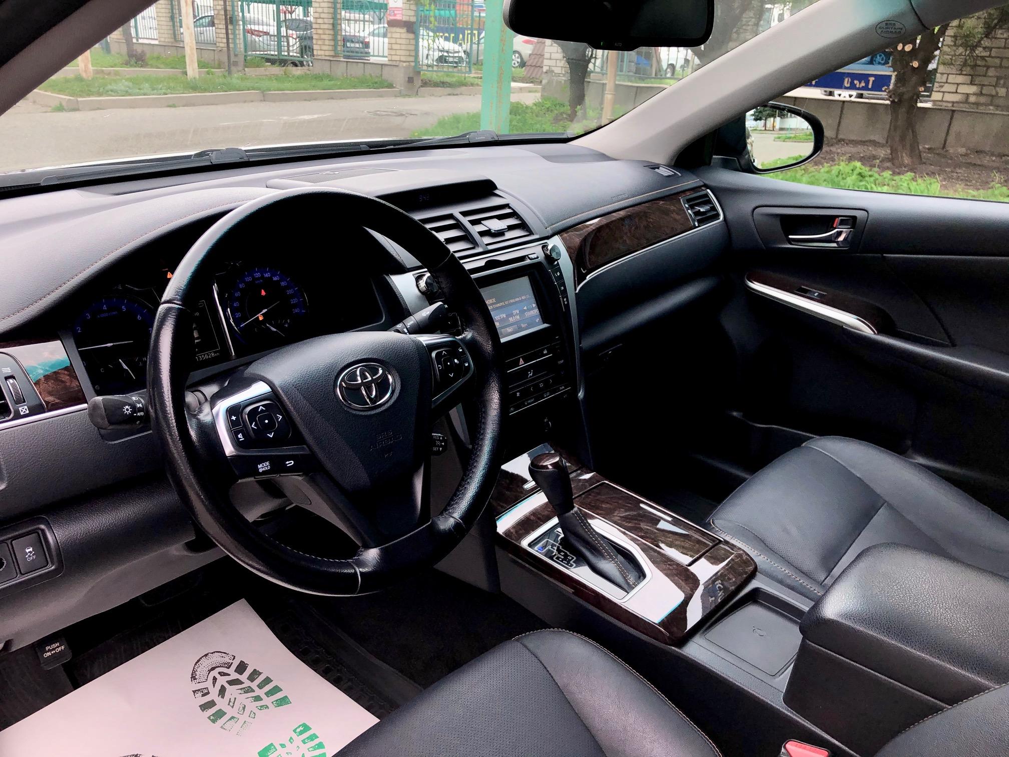 Купить Toyota Camry (Черный) - Автопарк Ставрополь