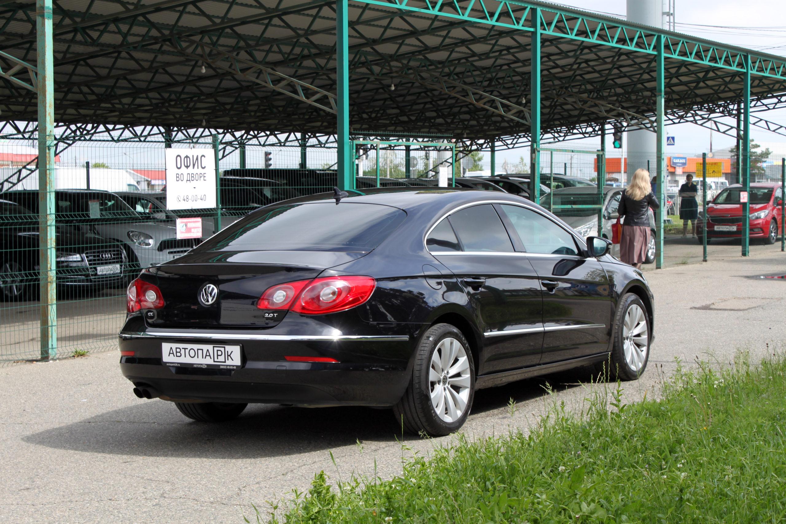 Купить Volkswagen Passat CC (Черный) - Автопарк Ставрополь