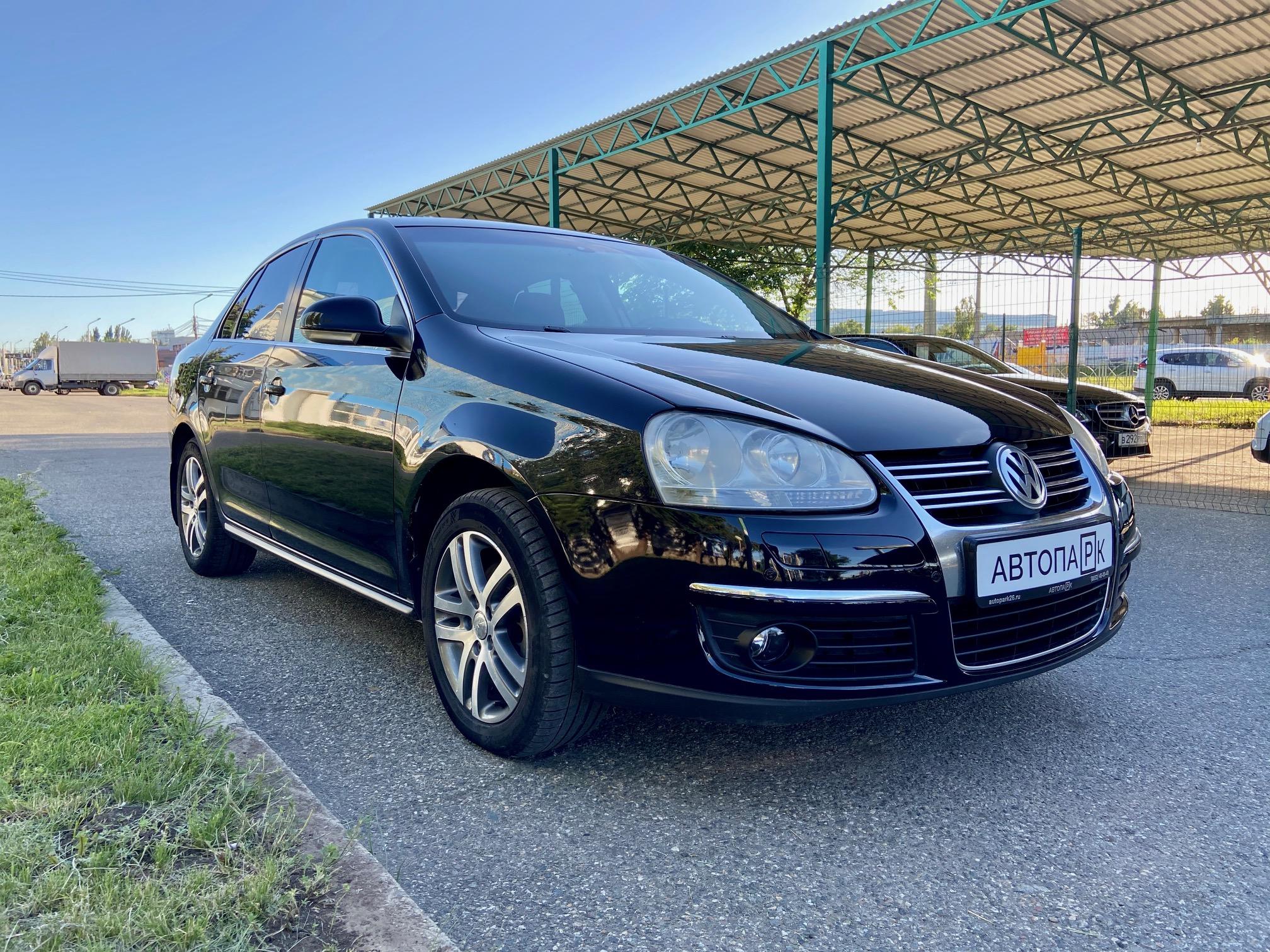 Купить Volkswagen Jetta (Черный) - Автопарк Ставрополь