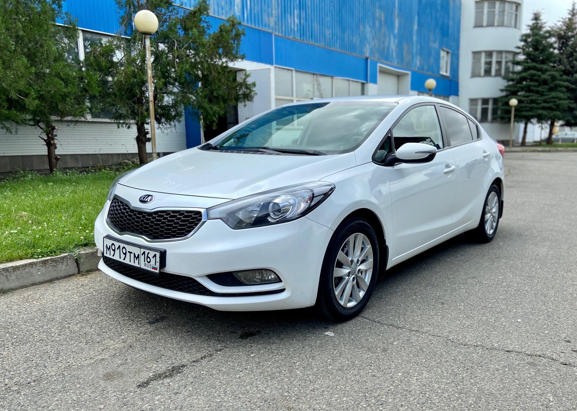 Купить KIA Cerato (Белый) - Автопарк Ставрополь
