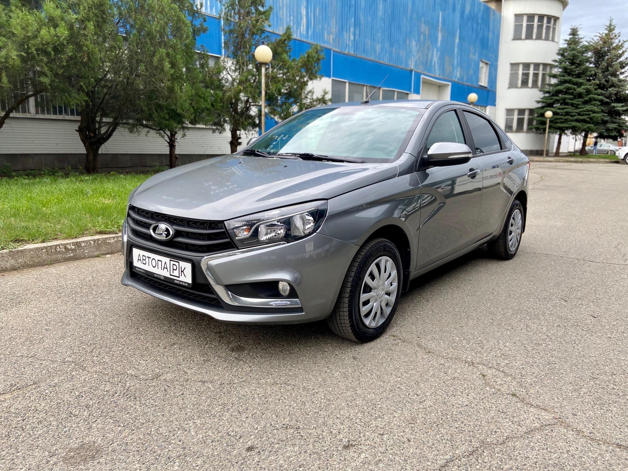 Купить LADA Vesta (Серый) - Автопарк Ставрополь