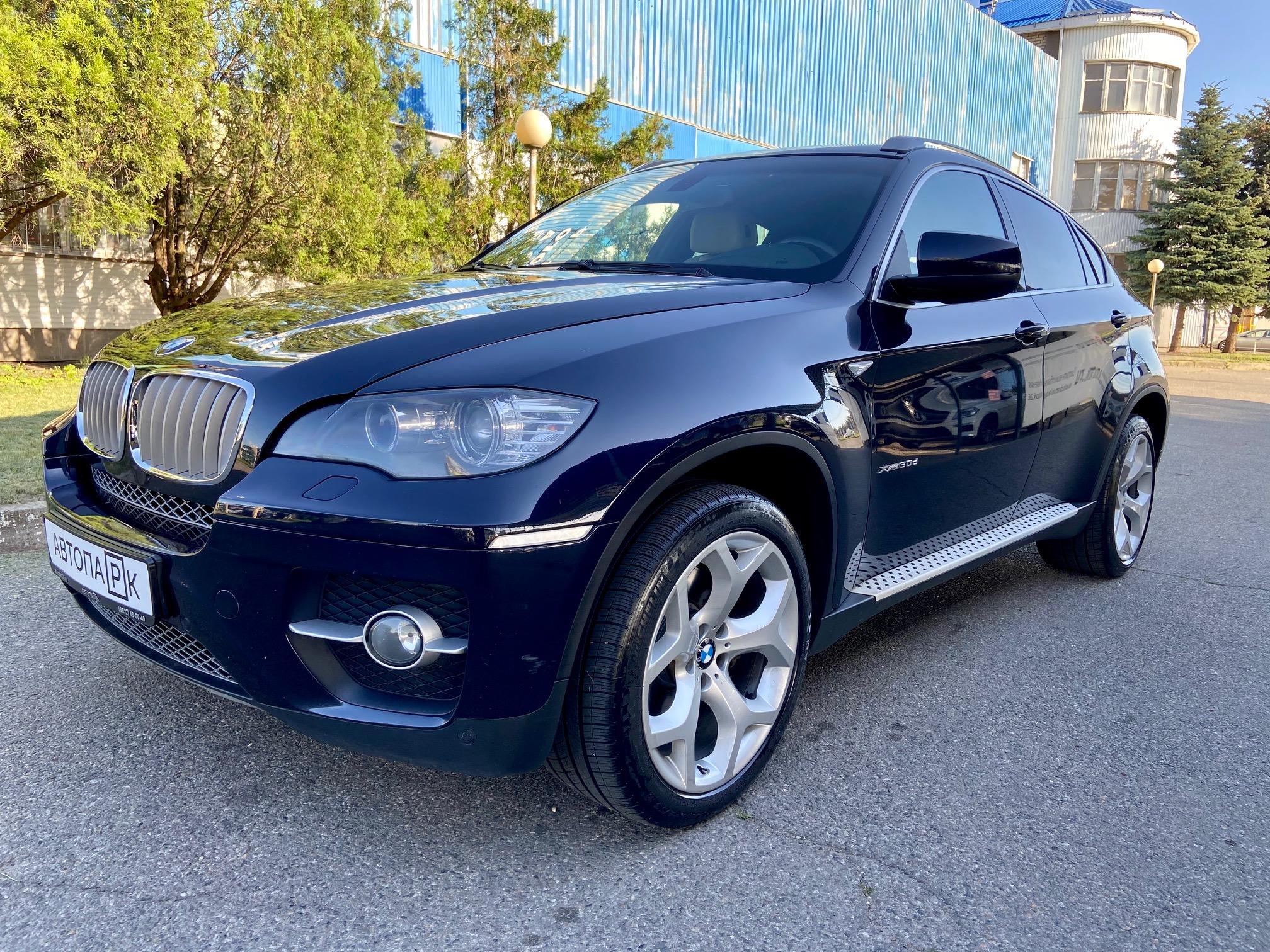 Купить BMW X6 (Синий) - Автопарк Ставрополь