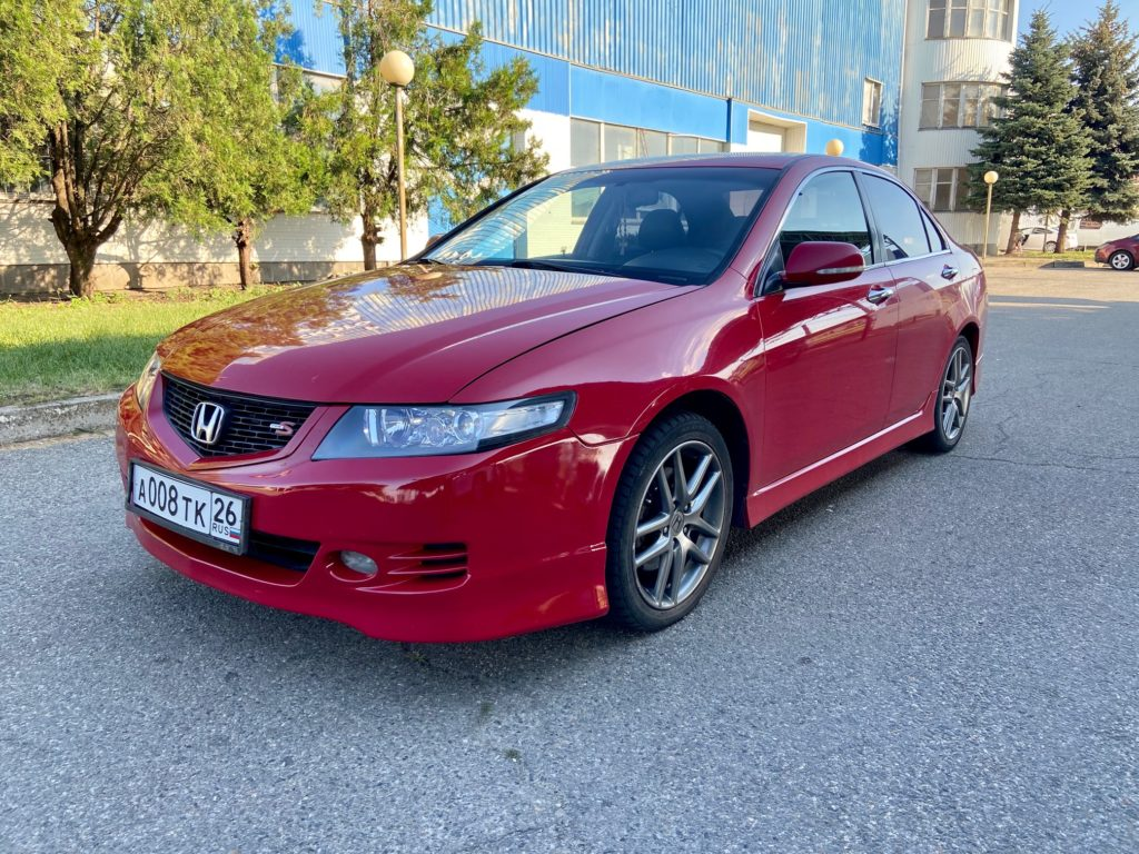 Купить Honda Accord (Красный) - Автопарк Ставрополь