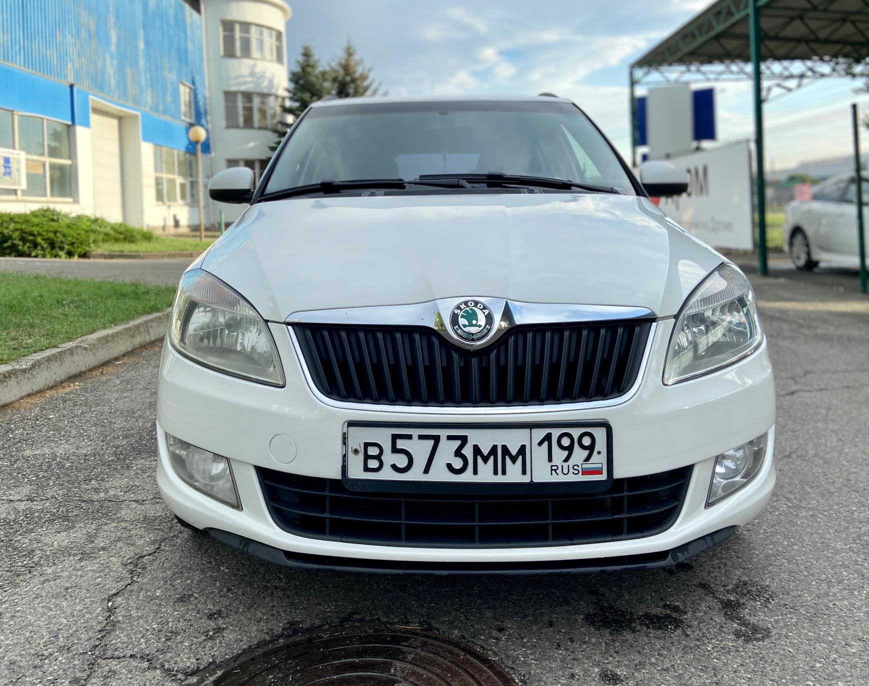 Купить Skoda Fabia (Белый) - Автопарк Ставрополь