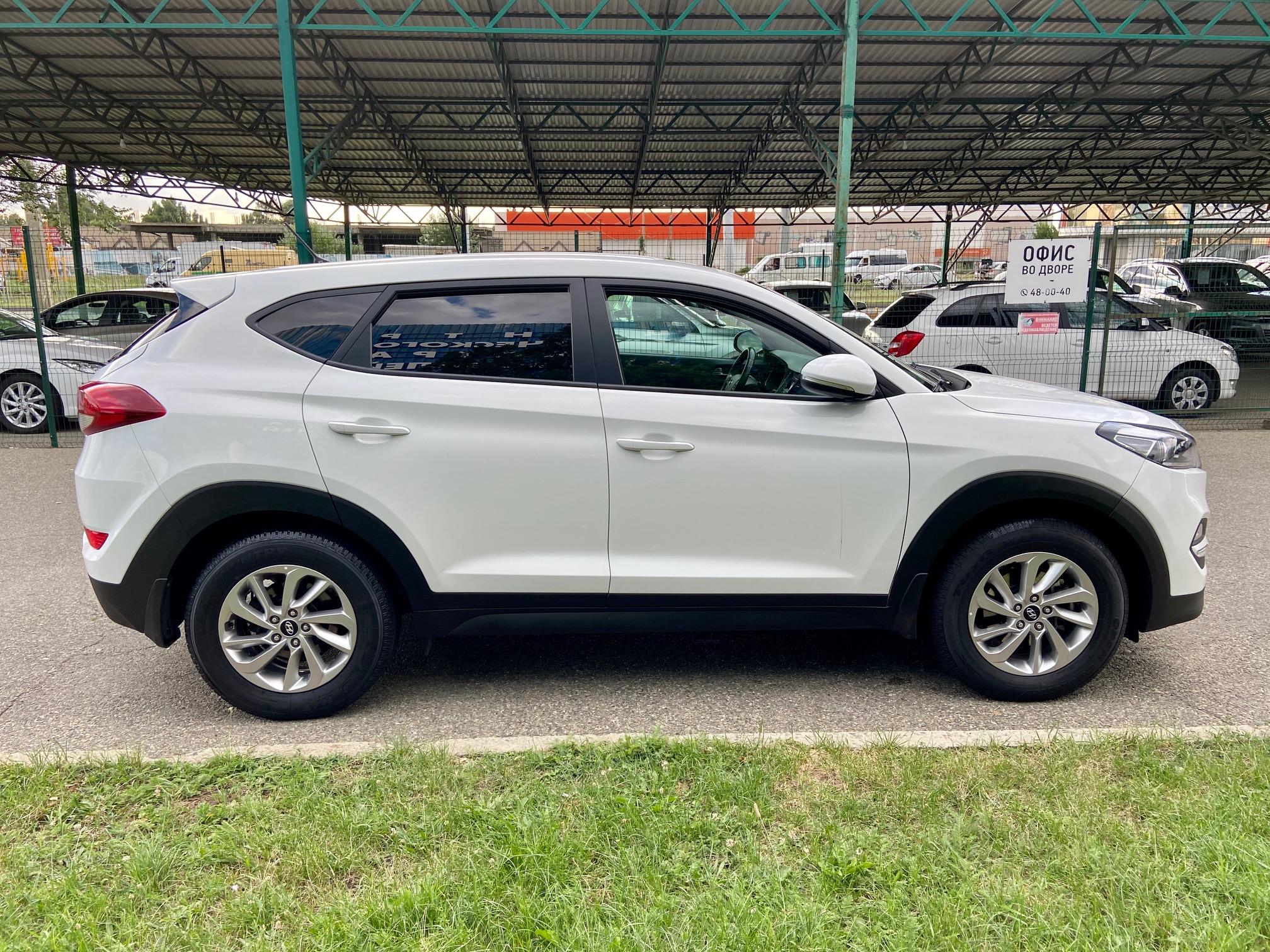 Купить Hyundai Tucson (Белый) - Автопарк Ставрополь