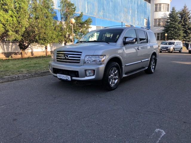 Купить Infiniti QX-56 (Серебристый ) - Автопарк Ставрополь