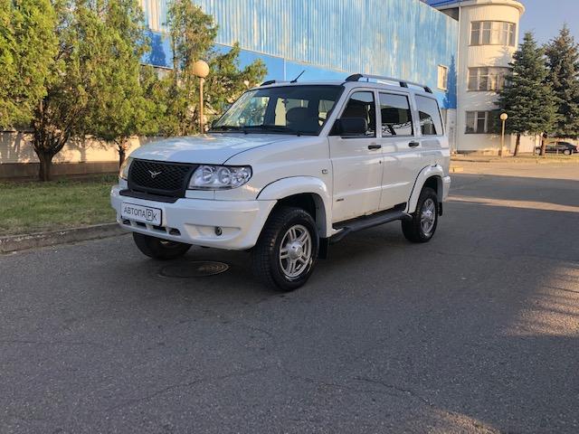 Купить УАЗ Patriot (Арктика) - Автопарк Ставрополь