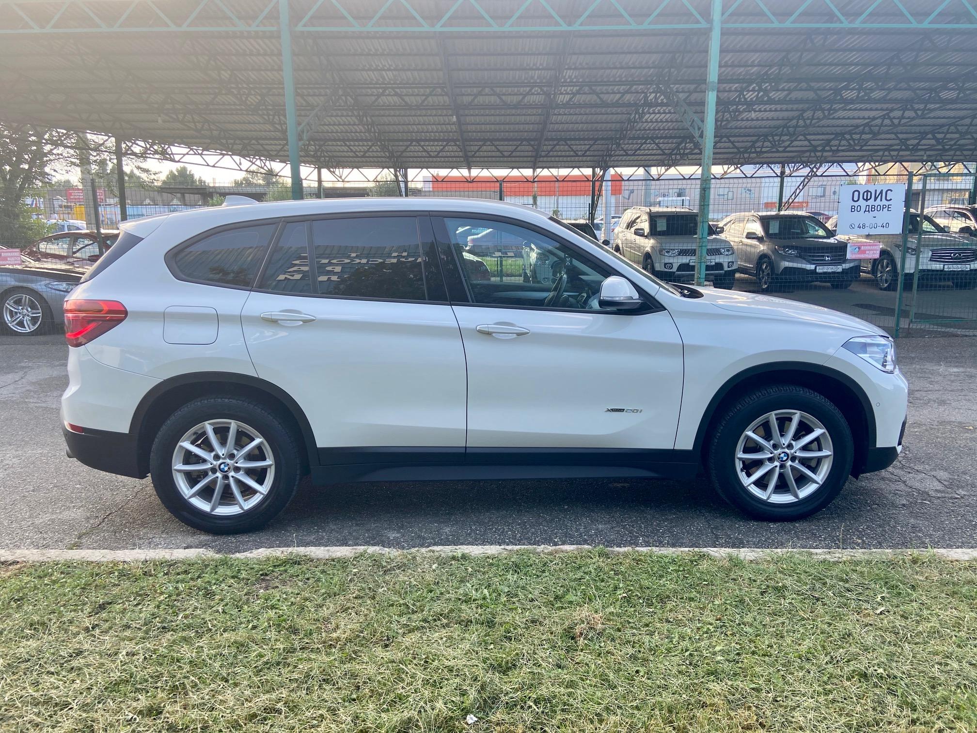 Купить BMW X1 (Белый) - Автопарк Ставрополь