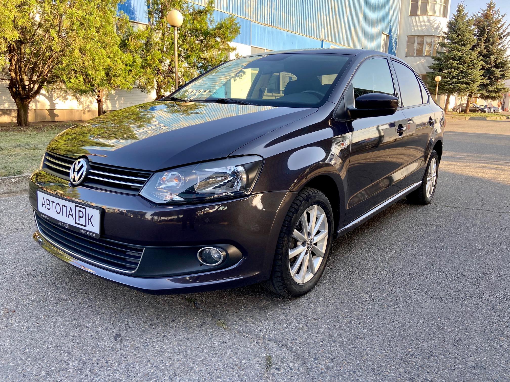 Купить Volkswagen Polo (Тёмно-серый) - Автопарк Ставрополь