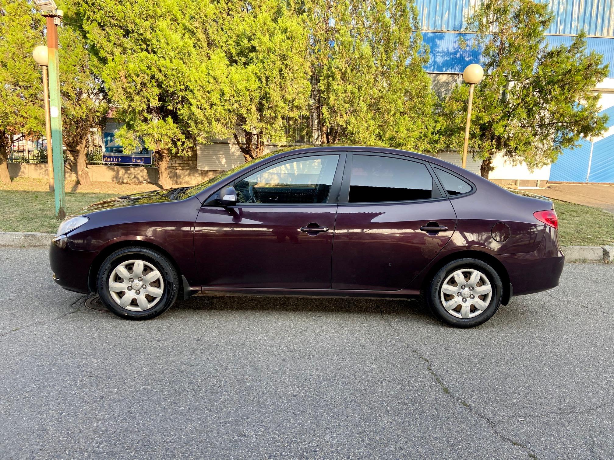 Купить Hyundai Elantra 1.6 GLS MT (Вишнёвый) - Автопарк Ставрополь