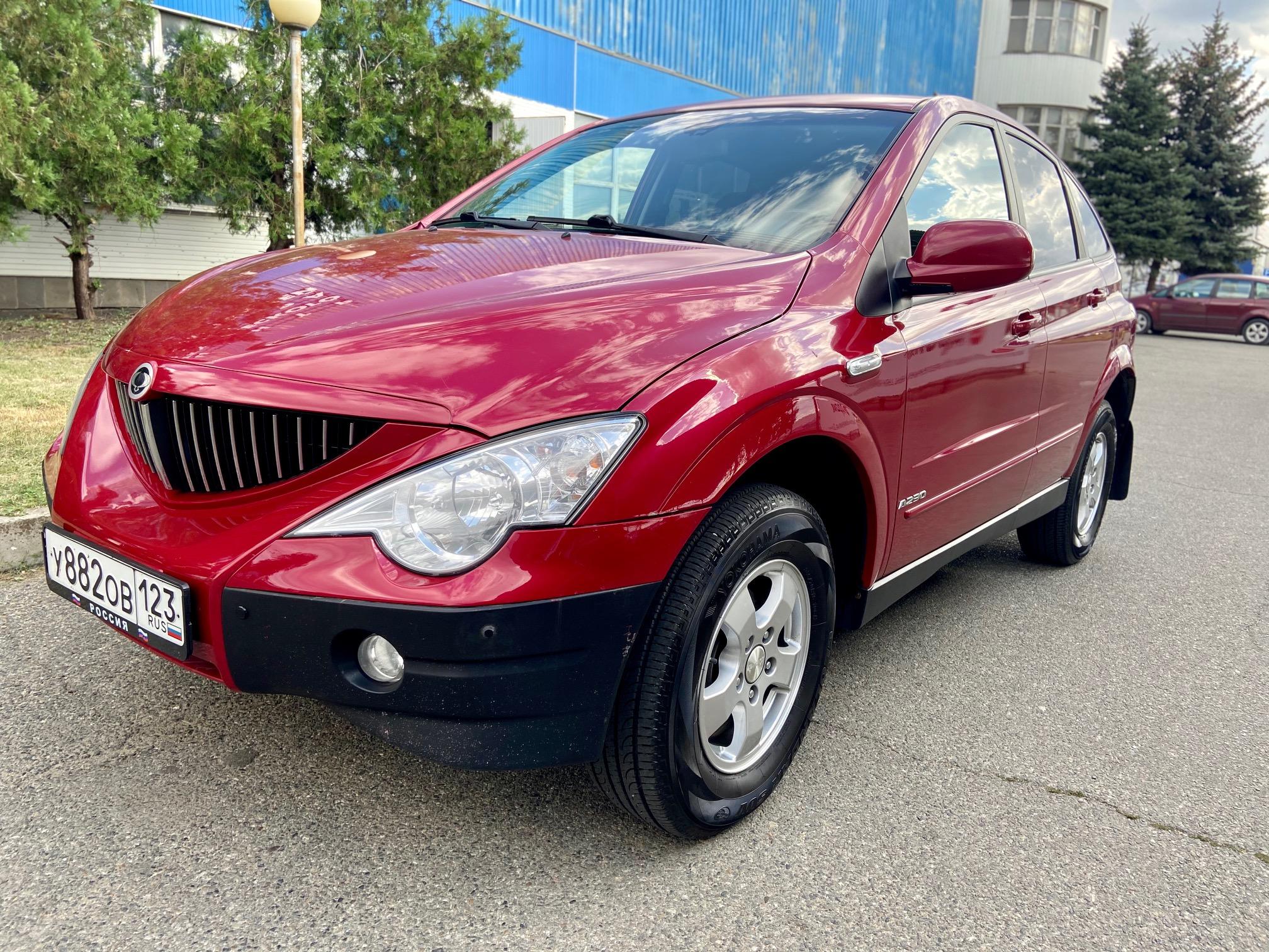 Купить SsangYong Actyon (Красный) - Автопарк Ставрополь