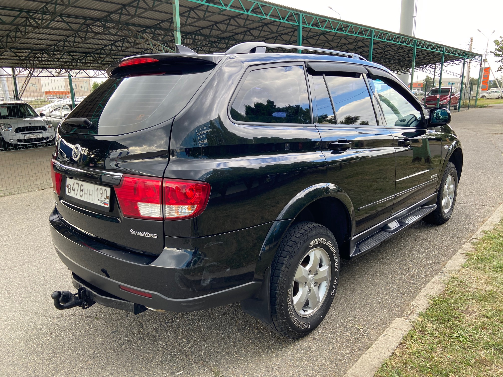 Купить SsangYong Kyron (Черный) - Автопарк Ставрополь
