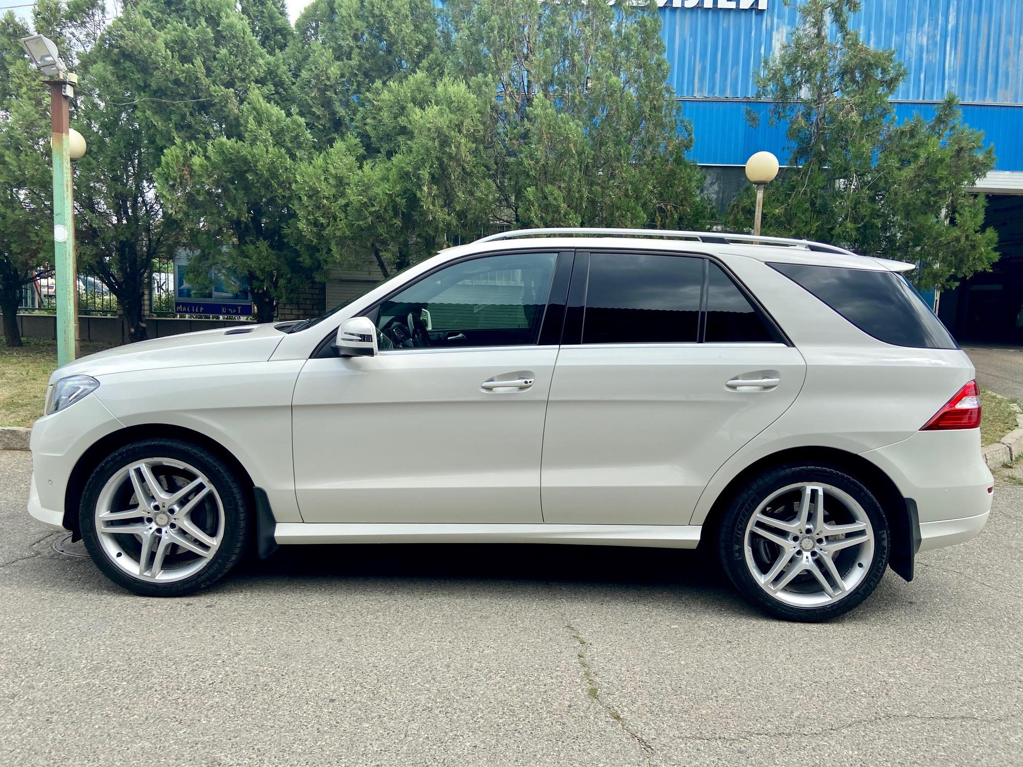 Купить Mercedes-Benz ML 350 4MATIC (Белый) - Автопарк Ставрополь