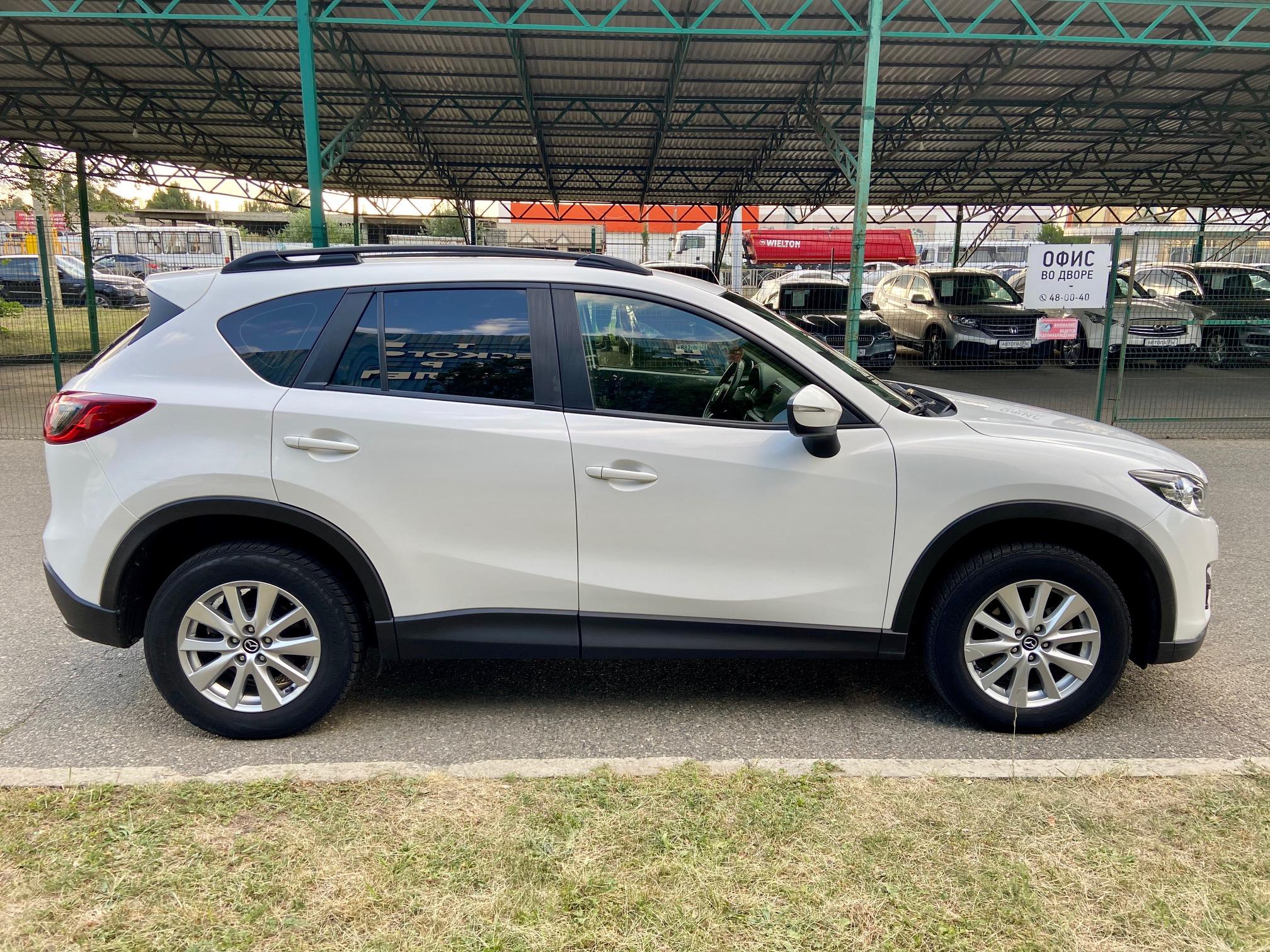 Купить Mazda CX-5 (Белый перламутр) - Автопарк Ставрополь