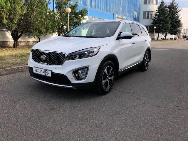 Купить KIA UM Sorento (Белый) - Автопарк Ставрополь