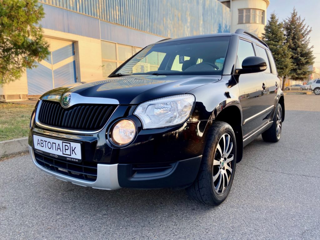 Купить Skoda Yeti (Черный) - Автопарк Ставрополь