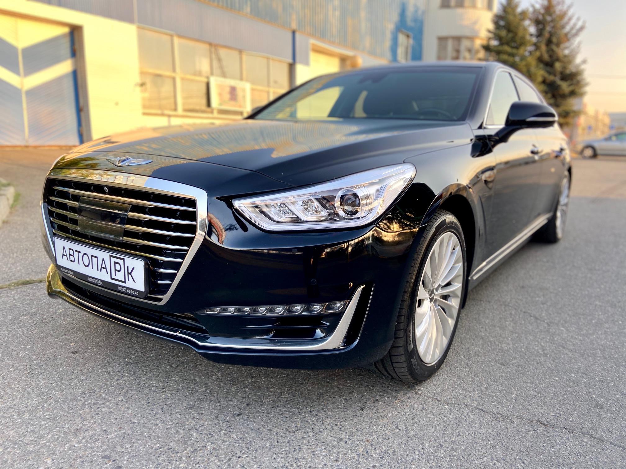 Купить Genesis G90 (Черный) - Автопарк Ставрополь