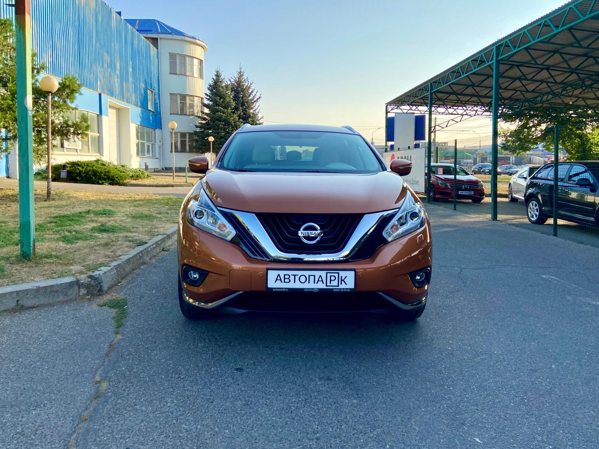Купить Nissan Murano (Оранжевый) - Автопарк Ставрополь