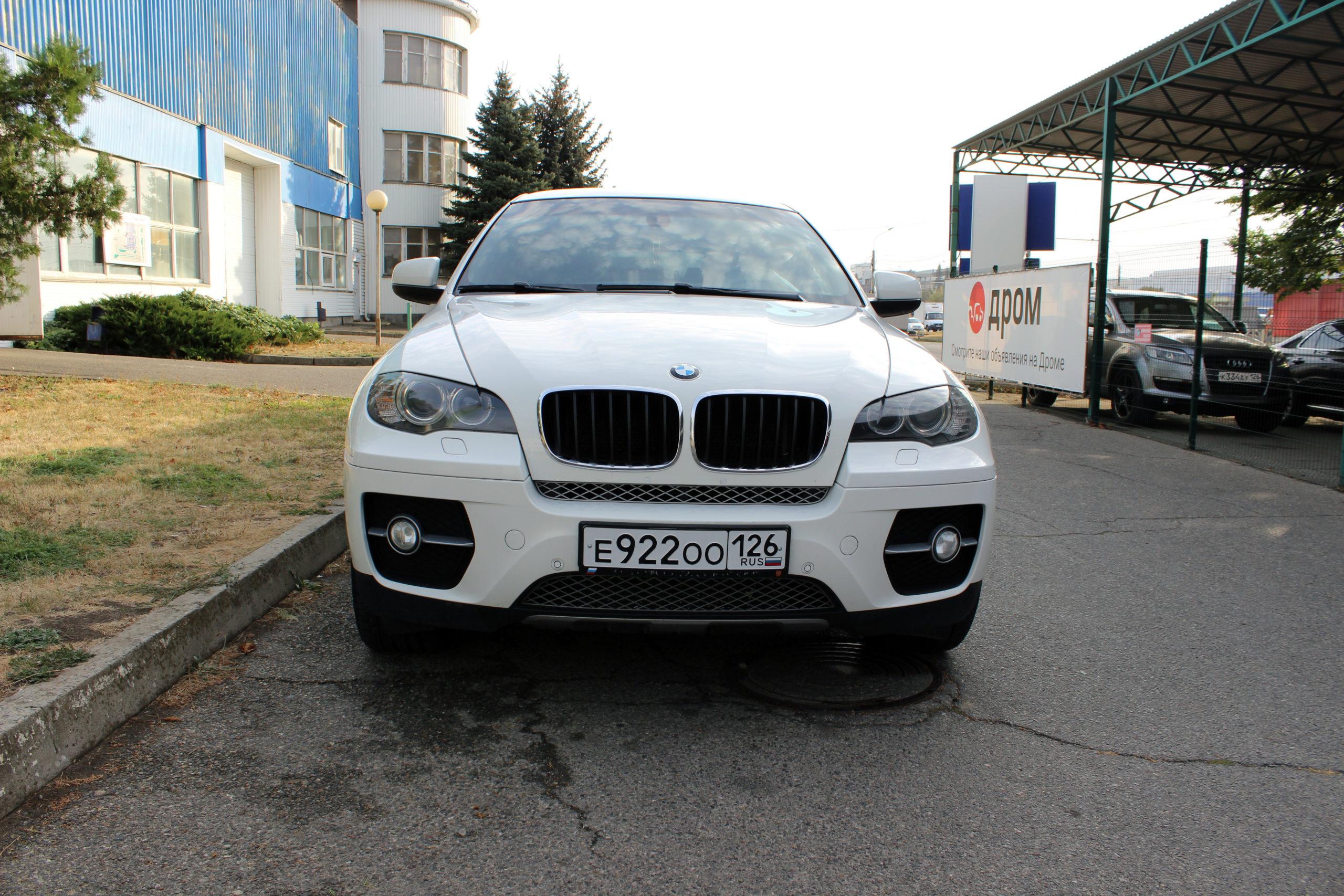 Купить BMW X6 (Белый) - Автопарк Ставрополь