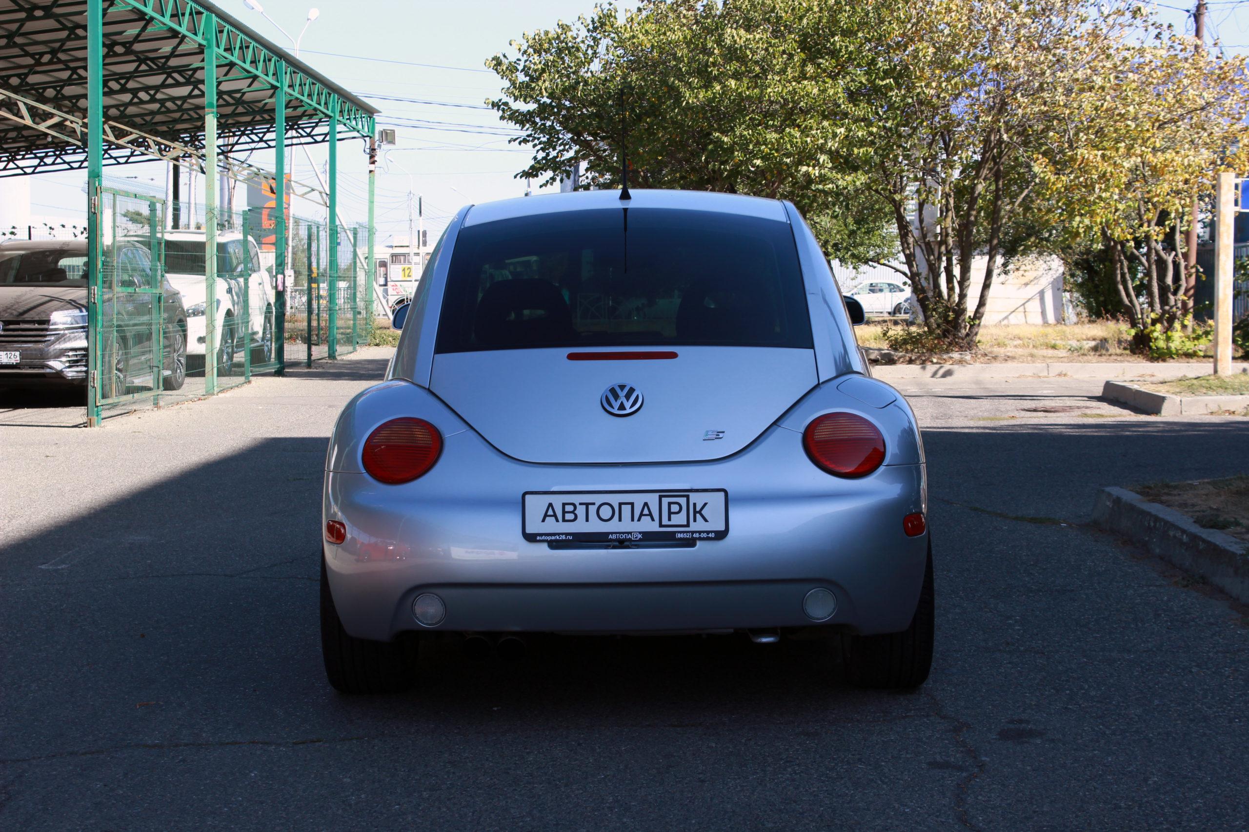 Купить Volkswagen New Beetle (Серебристый ) - Автопарк Ставрополь