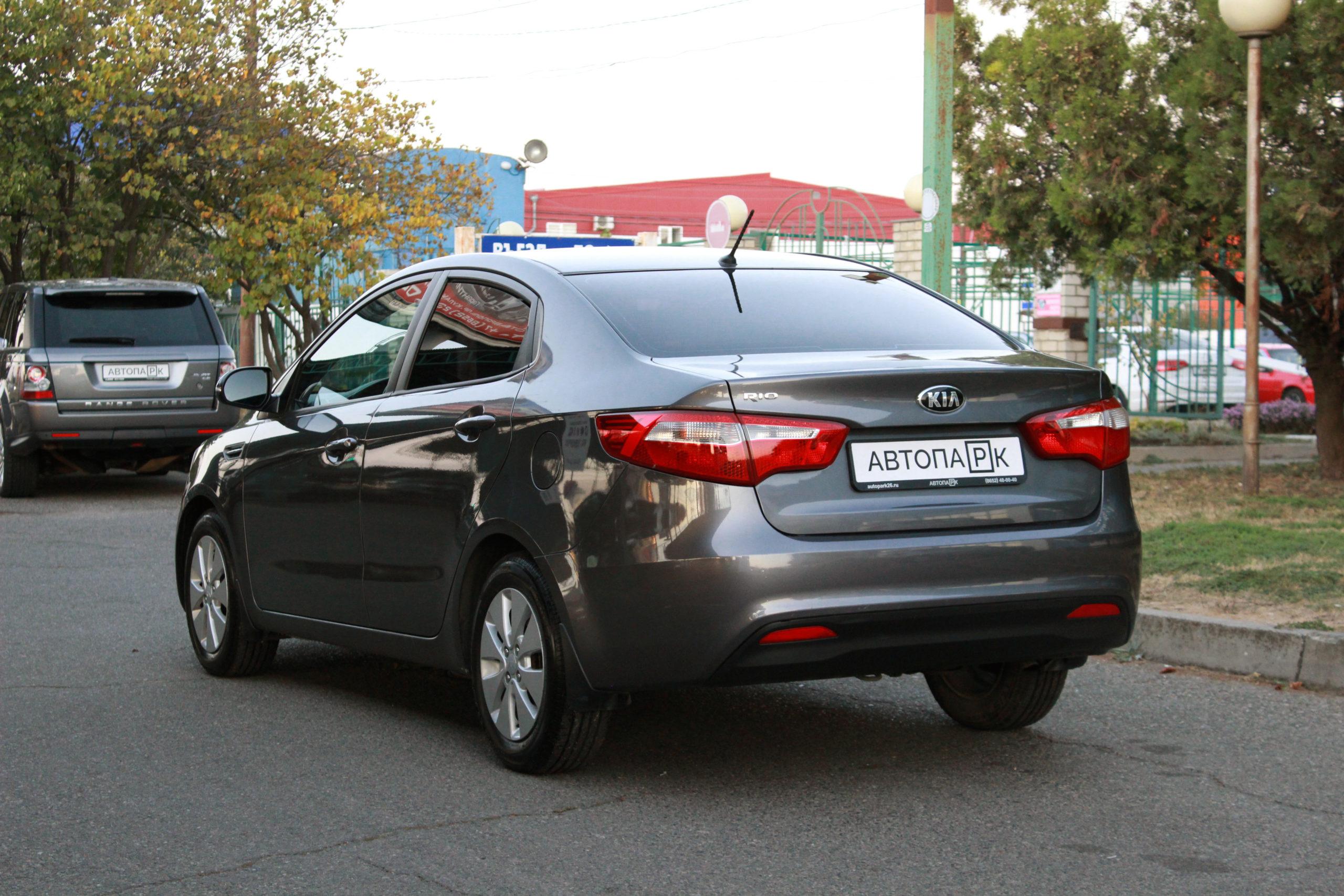Купить KIA Rio (Серый) - Автопарк Ставрополь