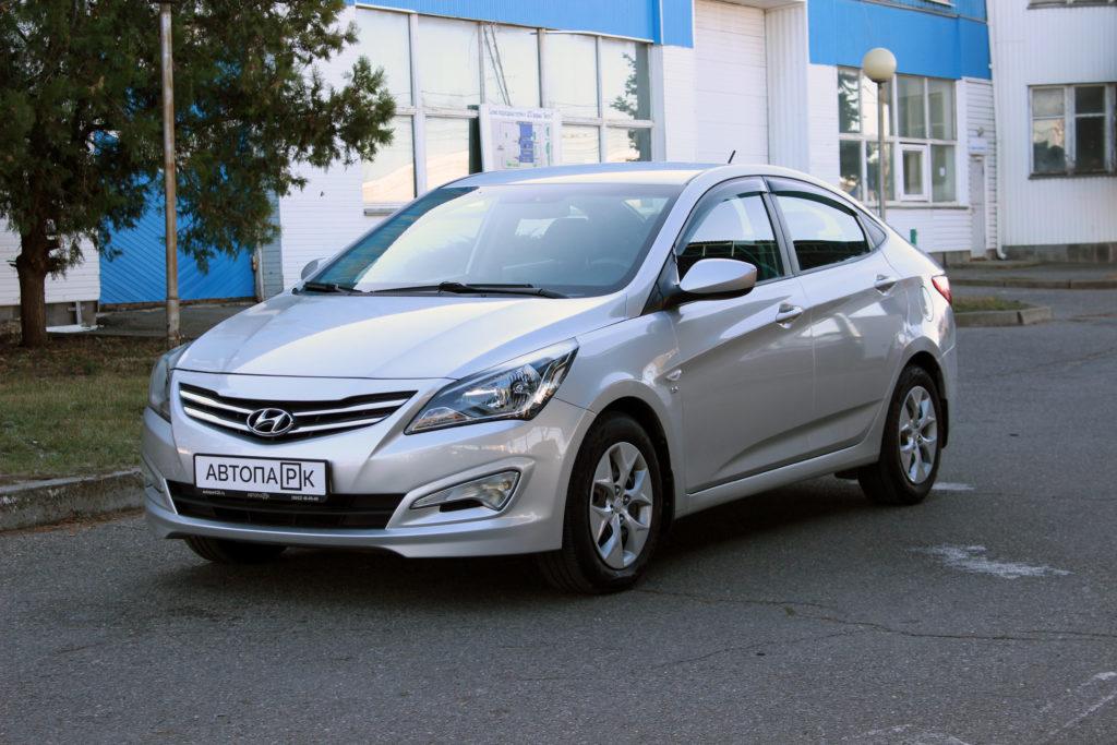 Купить Hyundai Solaris (Серебристый ) - Автопарк Ставрополь