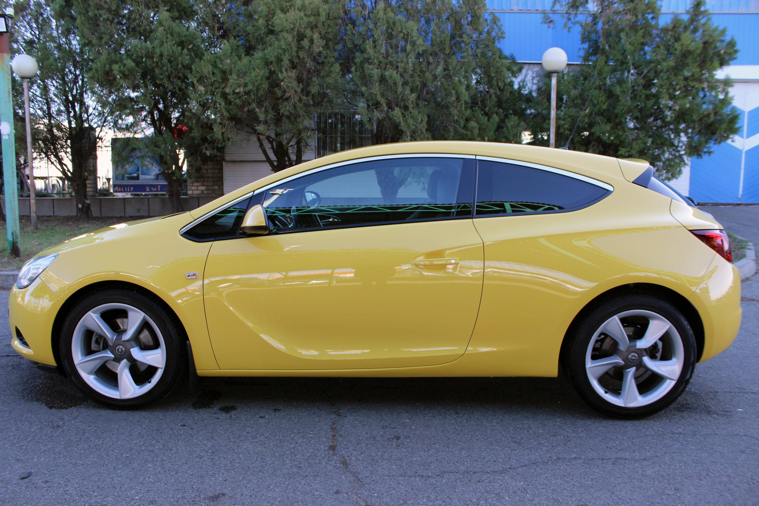 Купить Opel Astra GTC (Жёлтый) - Автопарк Ставрополь