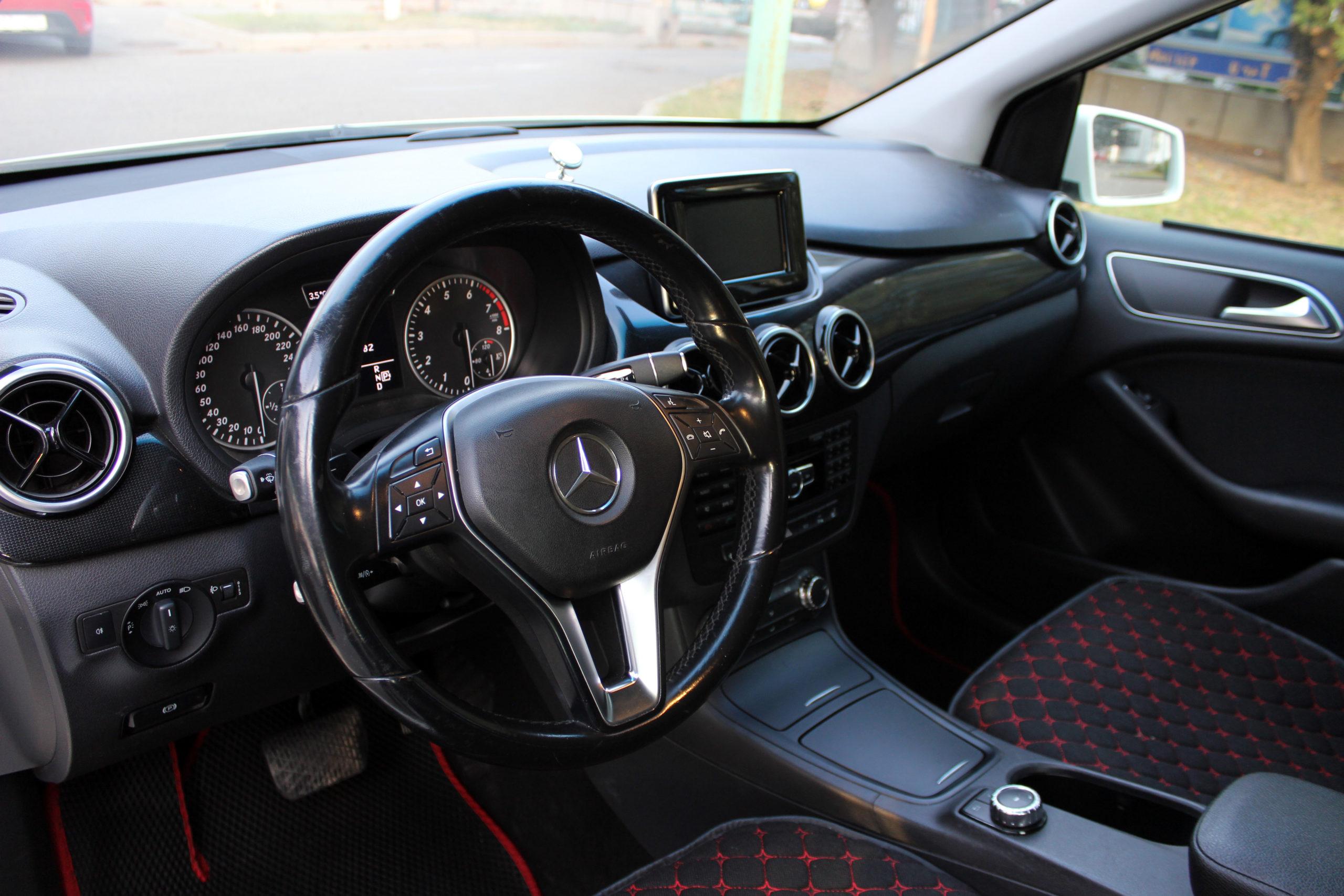 Купить Mercedes-Benz B-класс (Белый) - Автопарк Ставрополь